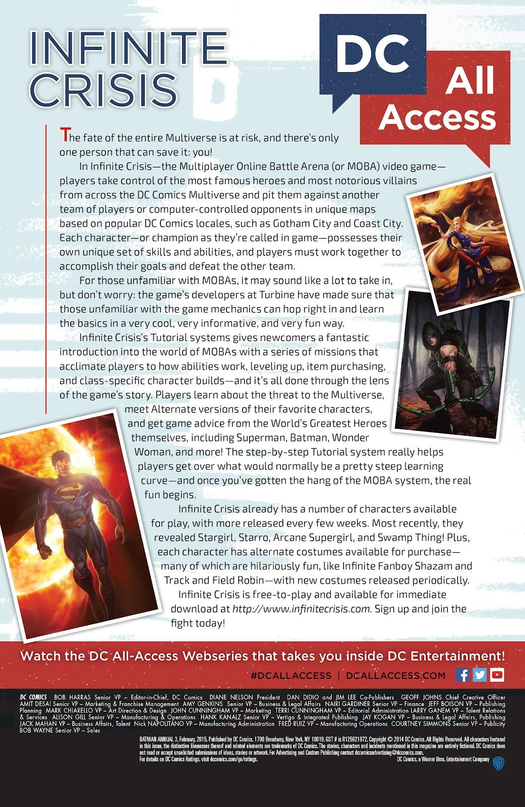 Batman (2011) Annual 3 #13 - English 41