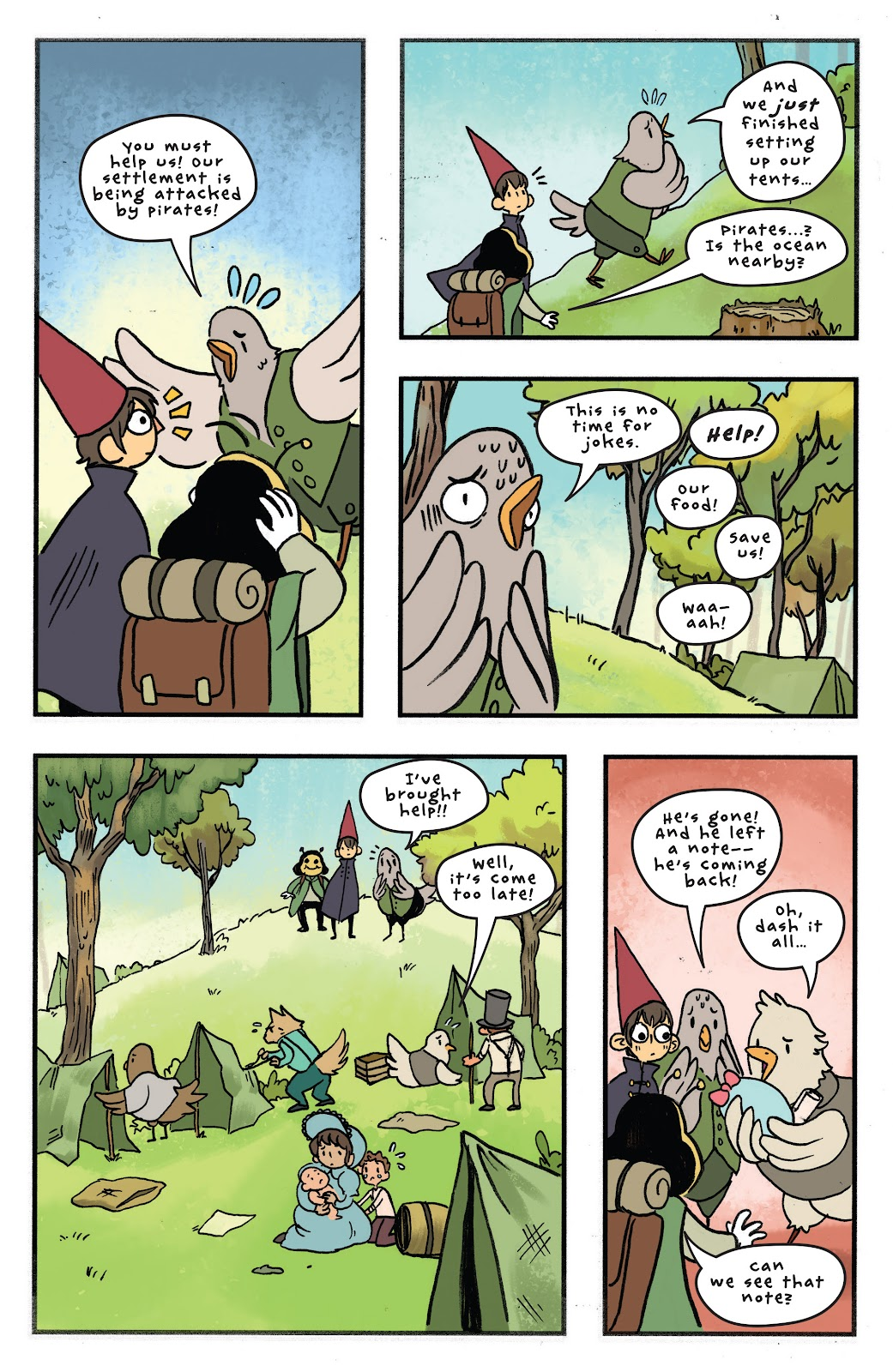Over the Garden Wall (2016) Issue #11 #11 - English 15