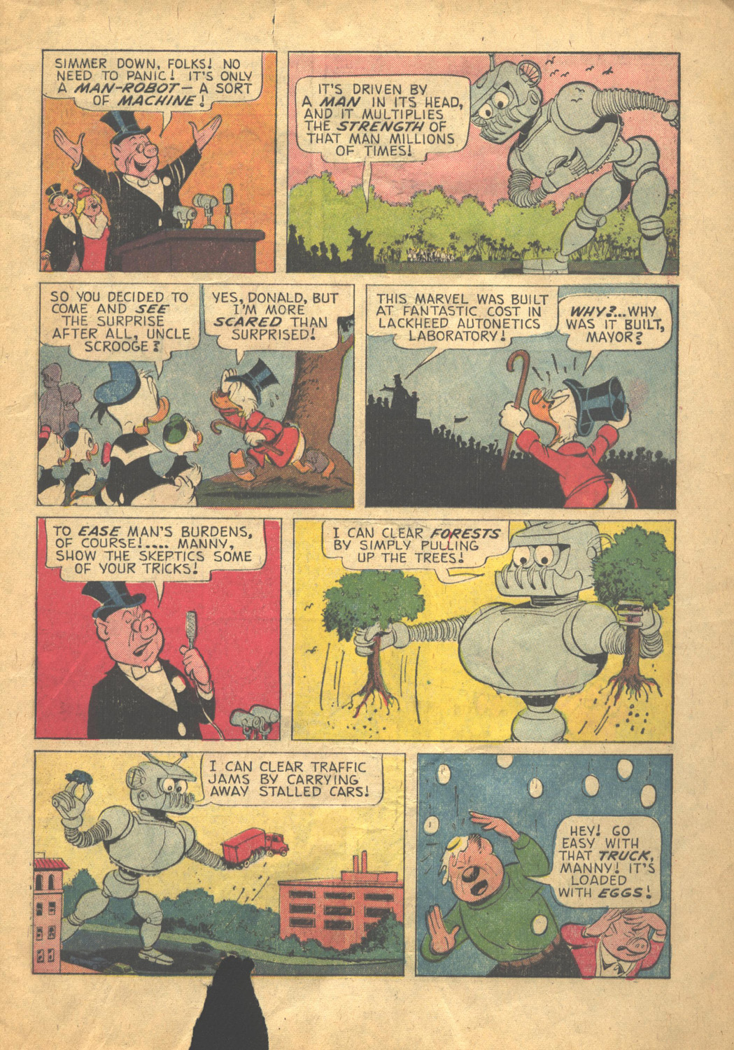 Uncle Scrooge (1953) Issue #58 #58 - English 5