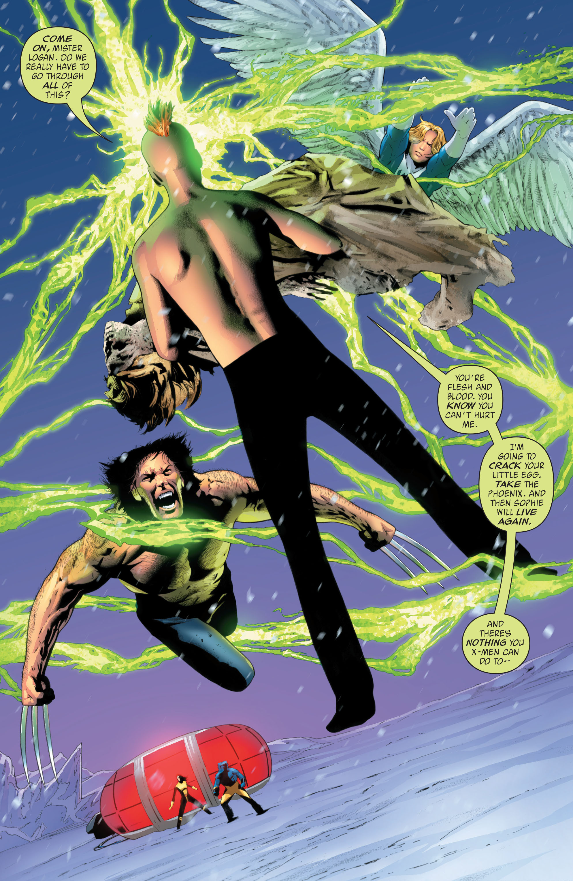 Read online X-Men: Phoenix - Endsong comic -  Issue #5 - 2