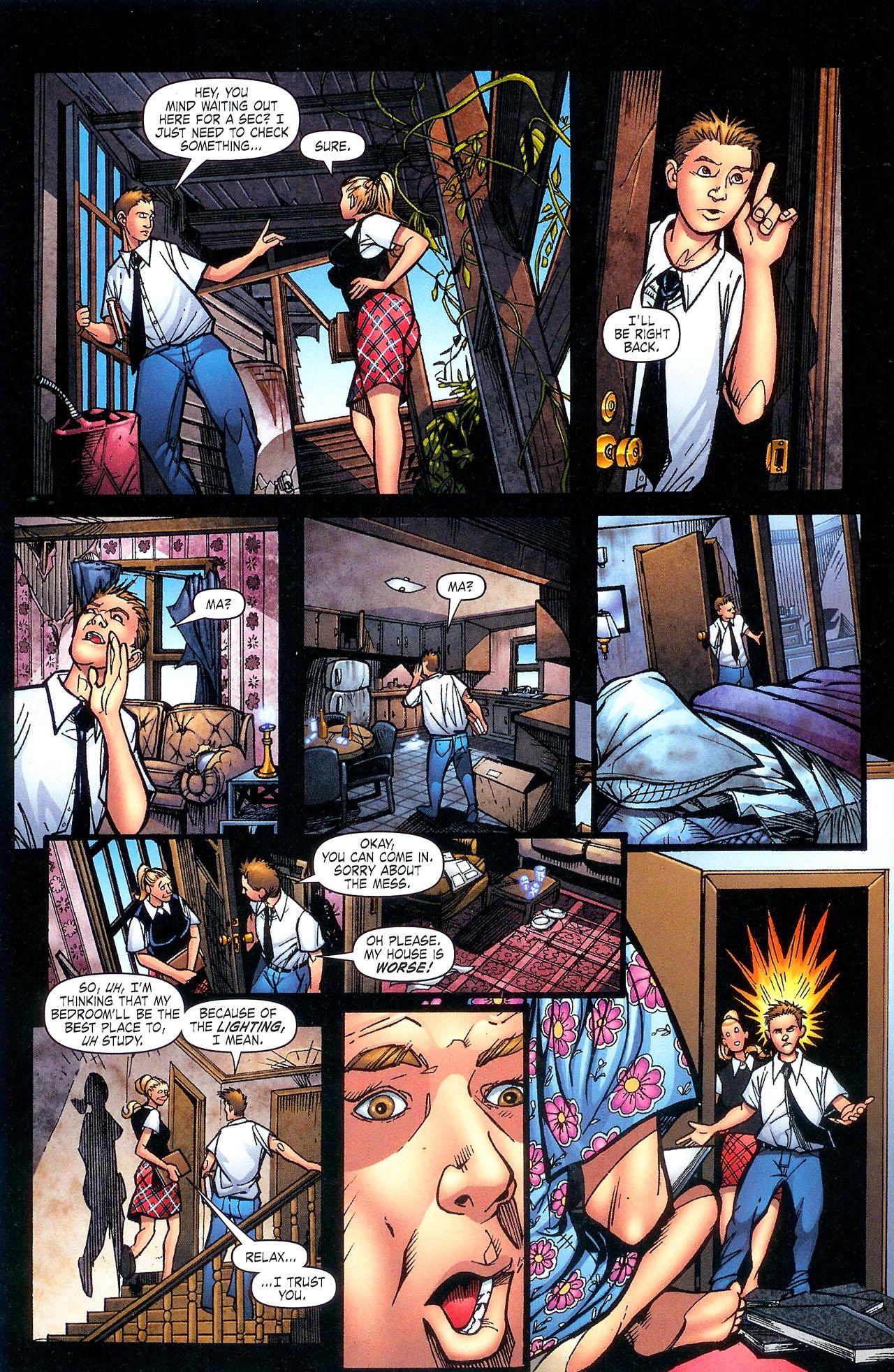 Read online Se7en comic -  Issue #5 - 20