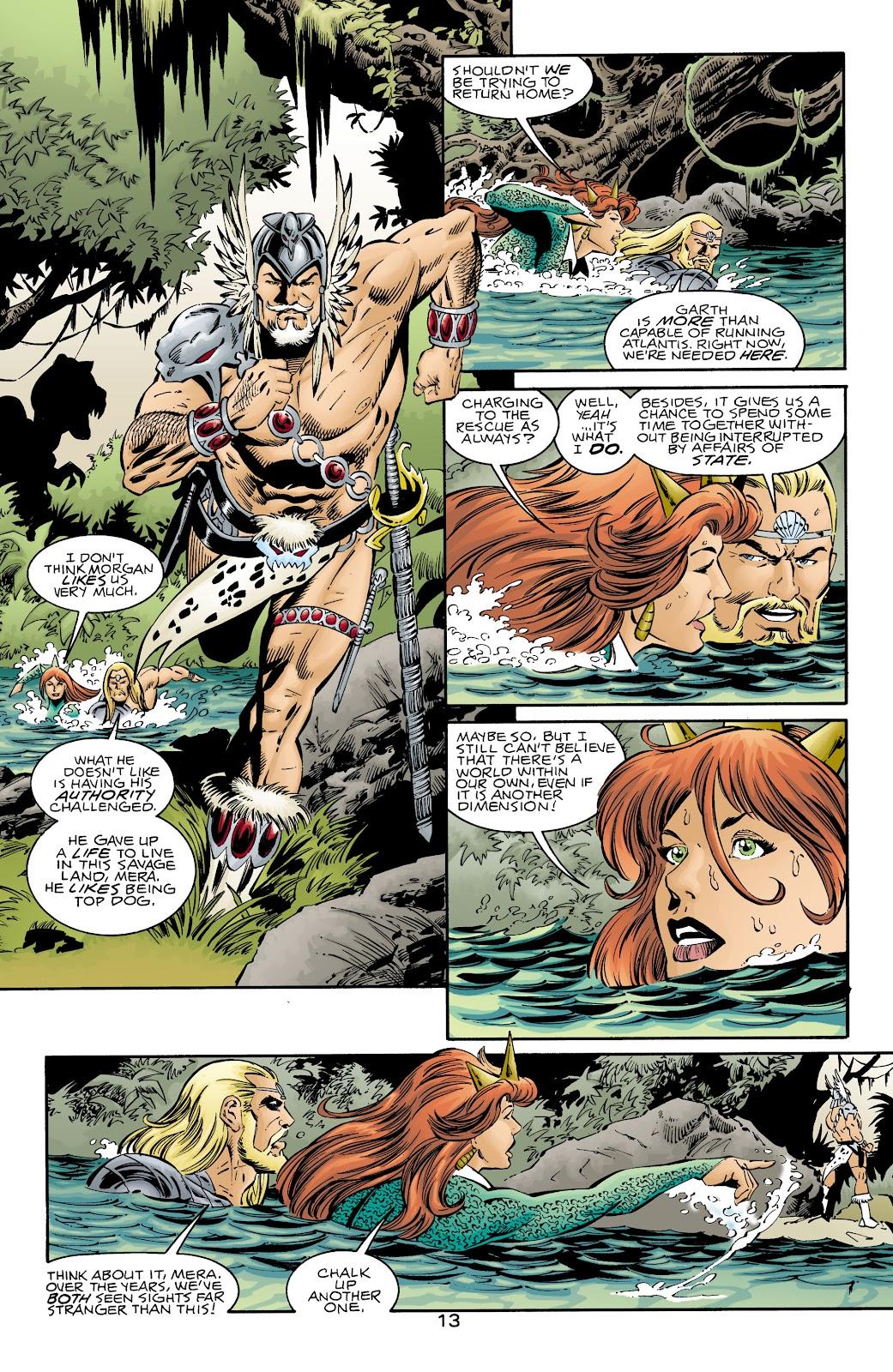 Aquaman (1994) Issue #72 #78 - English 12