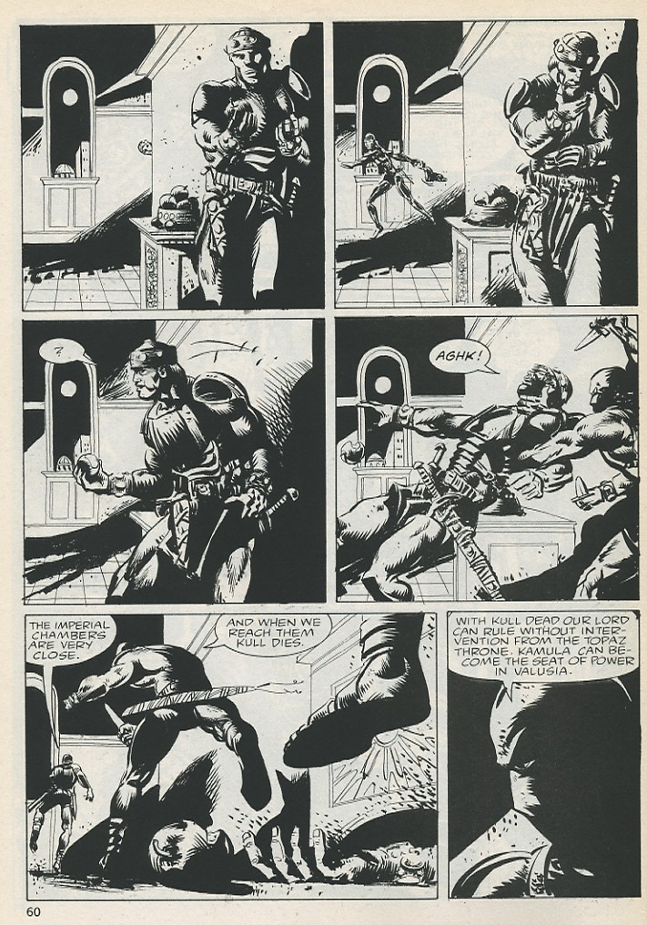 The Savage Sword Of Conan Issue #131 #132 - English 60