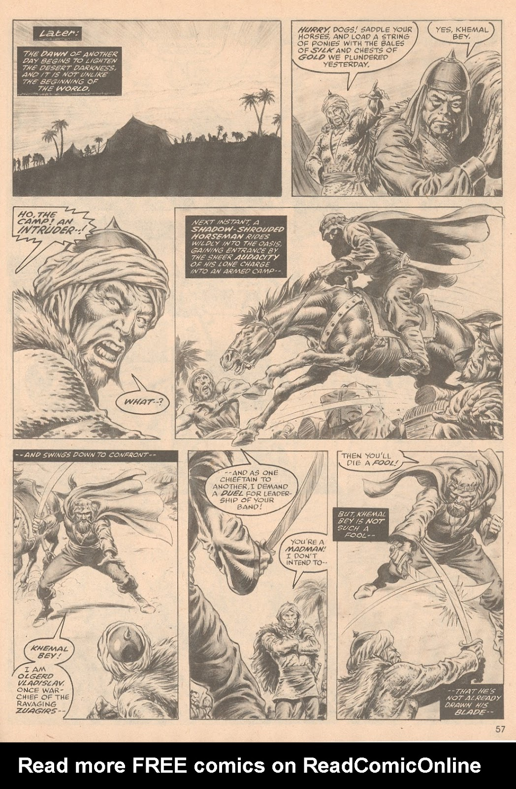 The Savage Sword Of Conan Issue #58 #59 - English 58