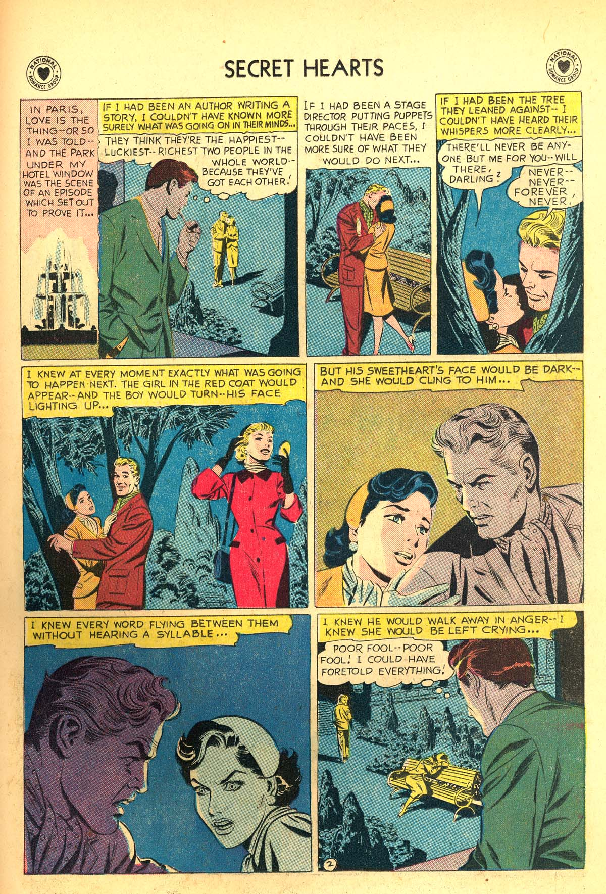 Read online Secret Hearts comic -  Issue #54 - 27
