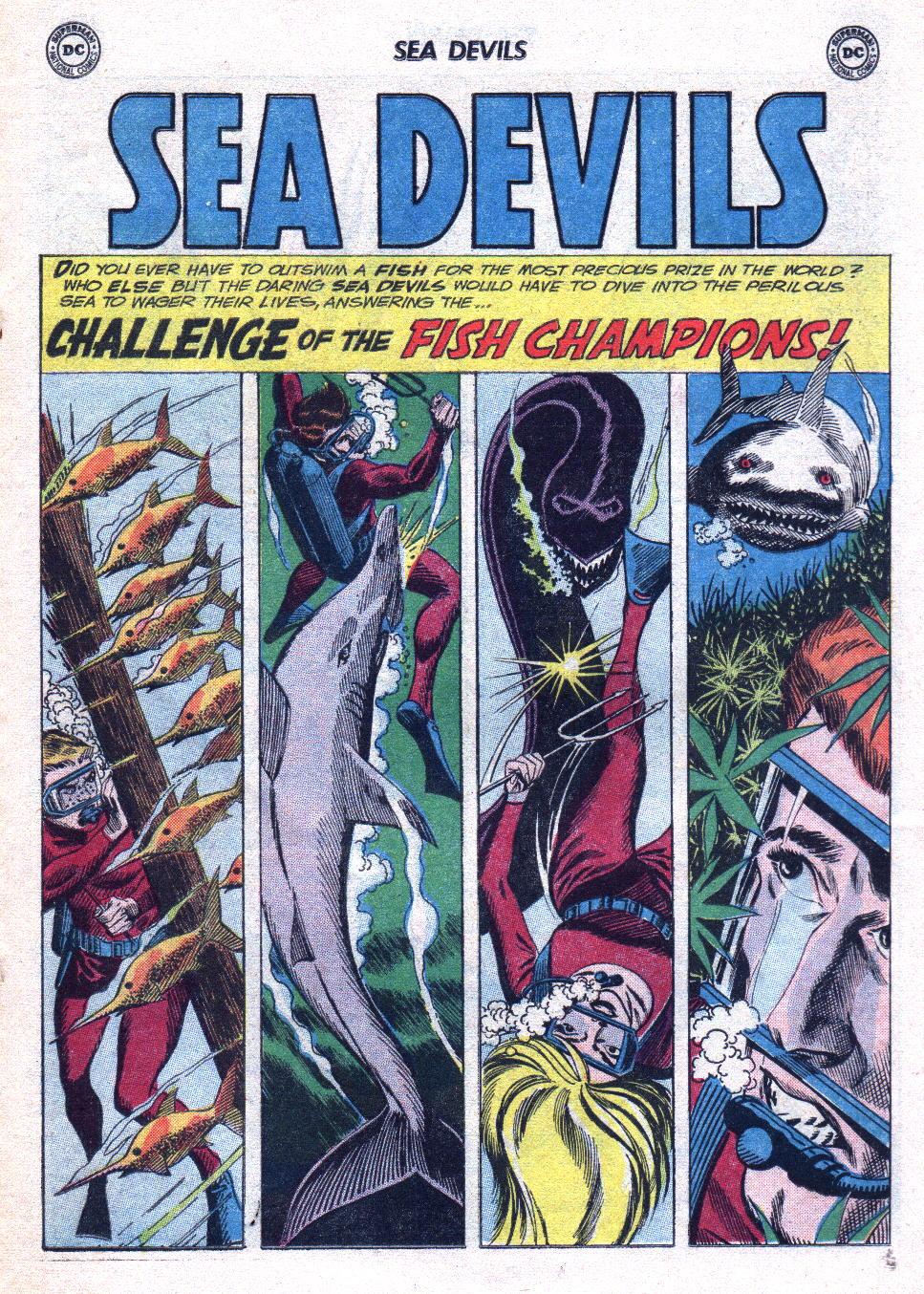 Read online Sea Devils comic -  Issue #14 - 19