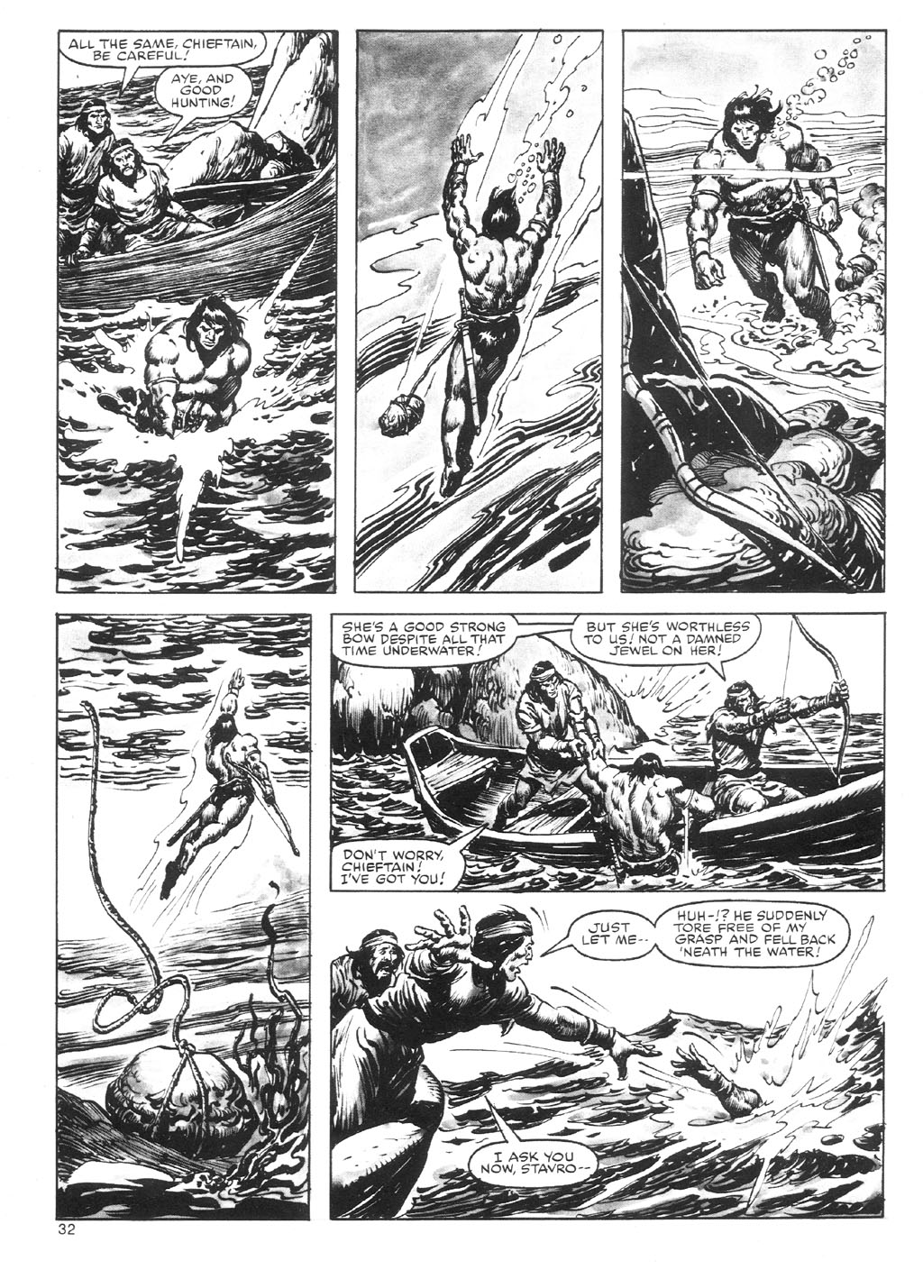 The Savage Sword Of Conan Issue #87 #88 - English 32