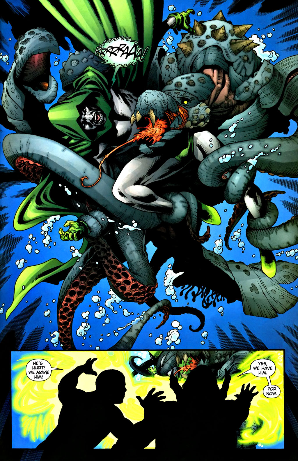 Aquaman (2003) Issue #37 #37 - English 17