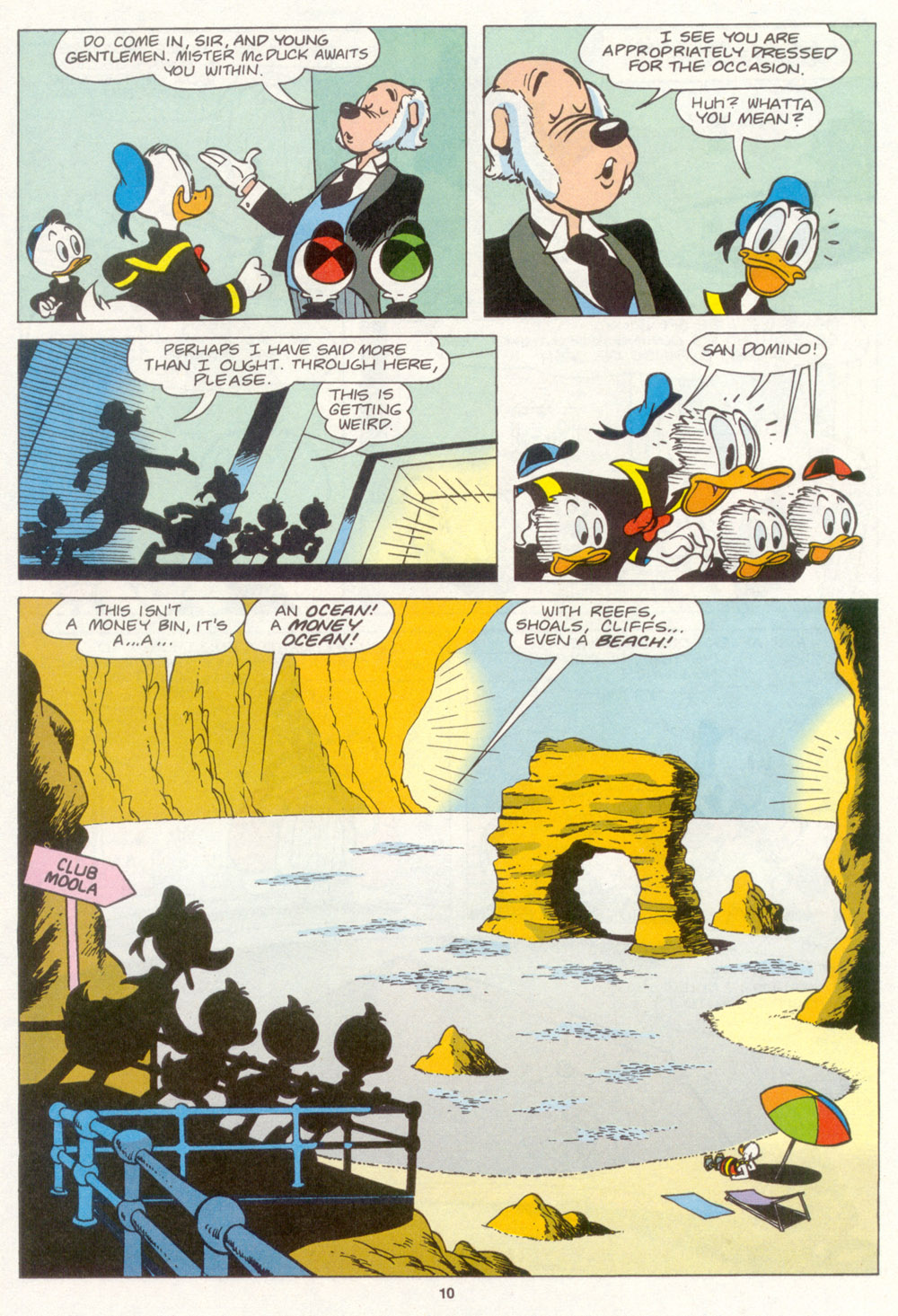 Uncle Scrooge (1953) Issue #266 #266 - English 11