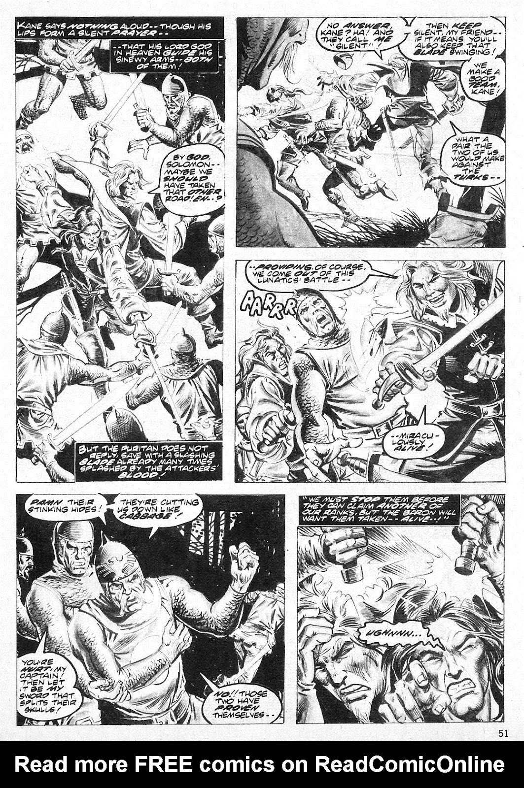 The Savage Sword Of Conan Issue #19 #20 - English 51