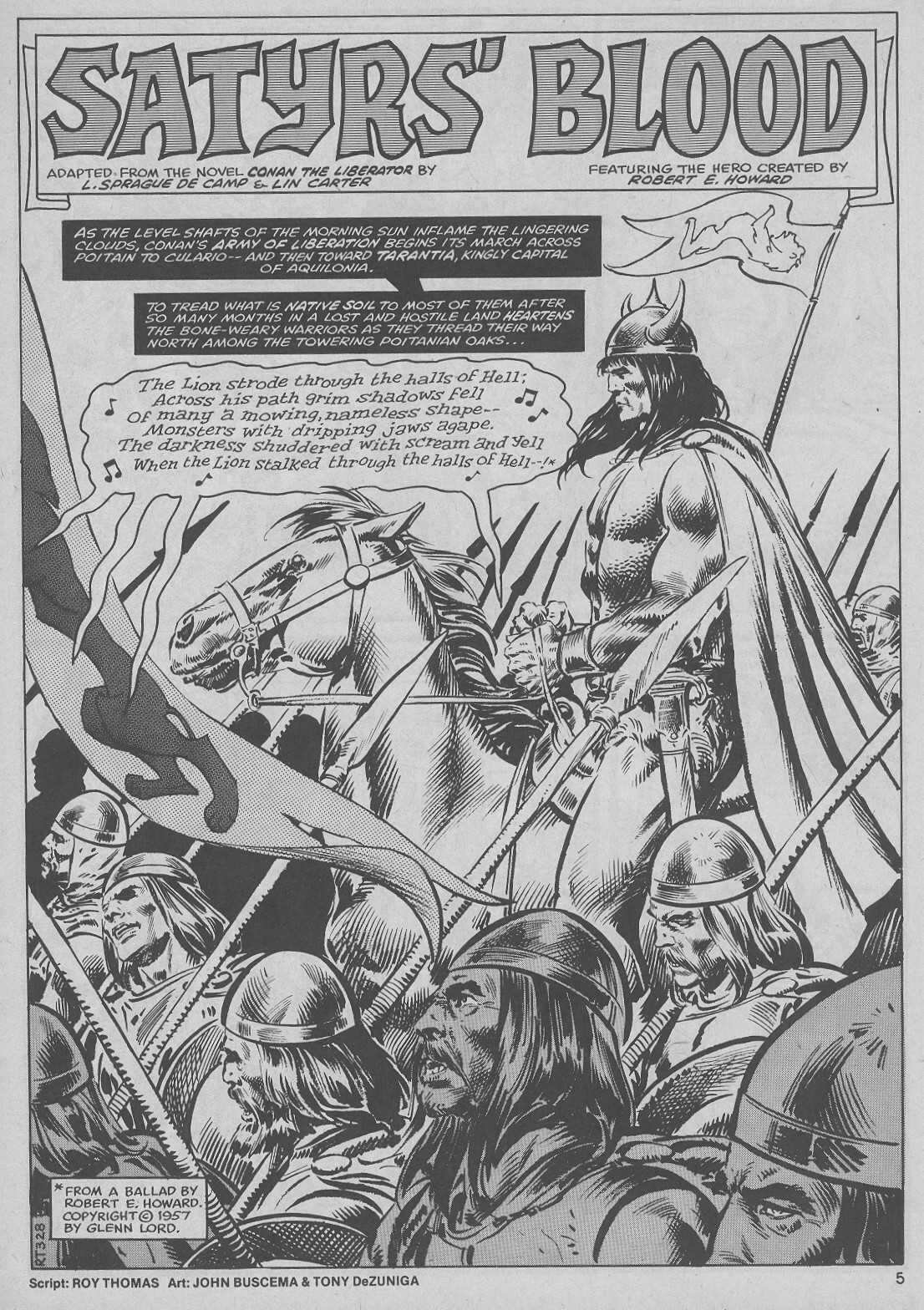 The Savage Sword Of Conan Issue #51 #52 - English 5