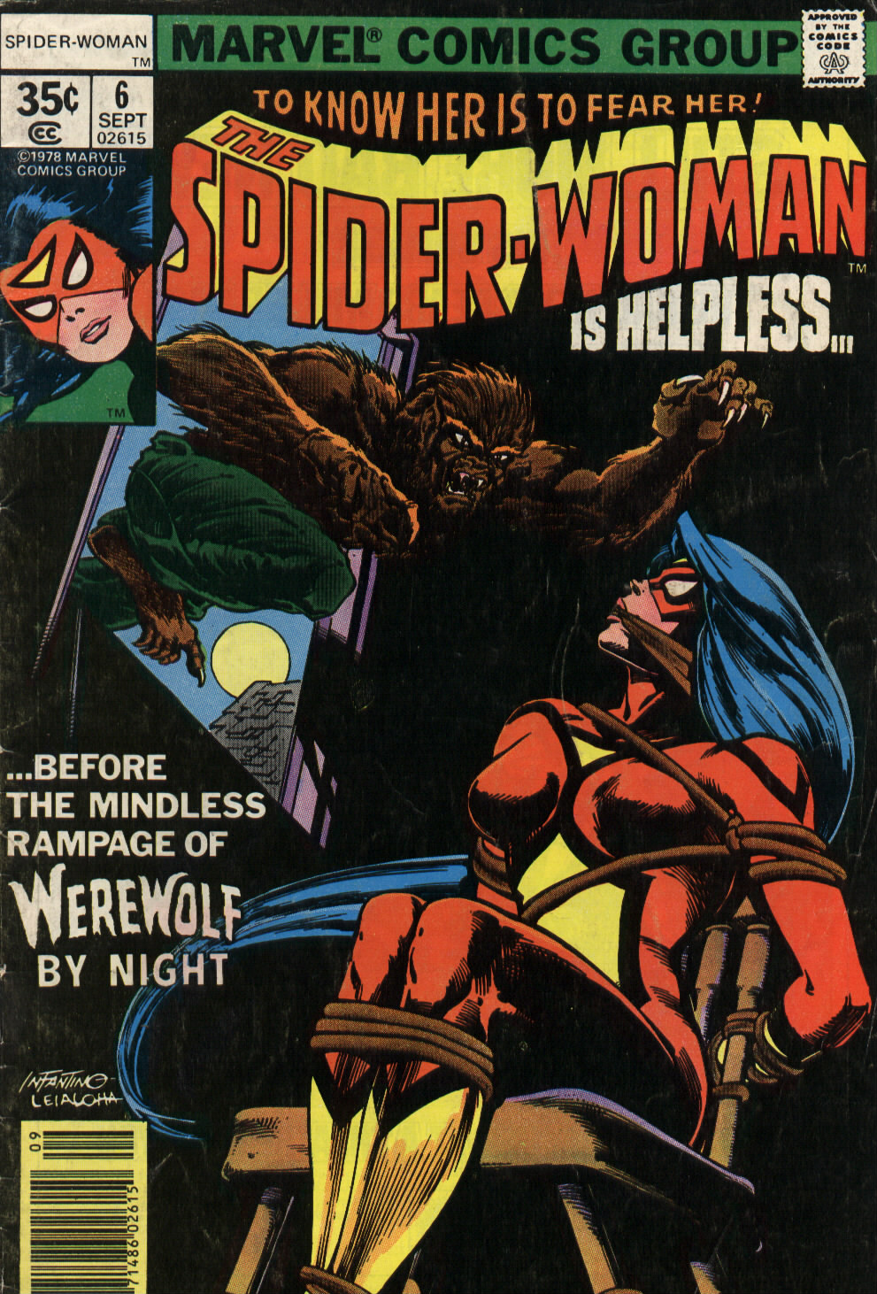 Spider-Woman (1978) Issue #6 #6 - English 1