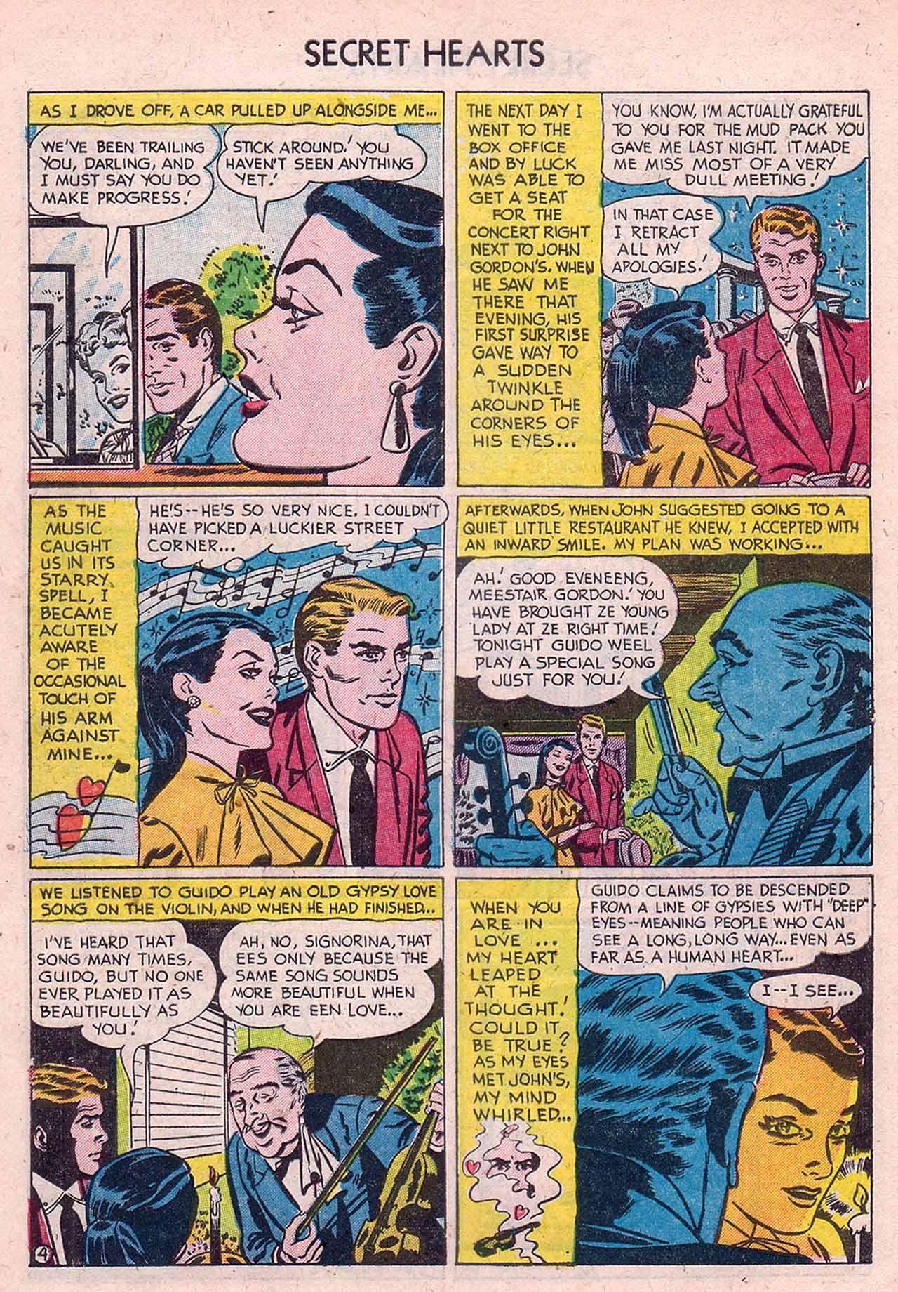 Read online Secret Hearts comic -  Issue #12 - 6