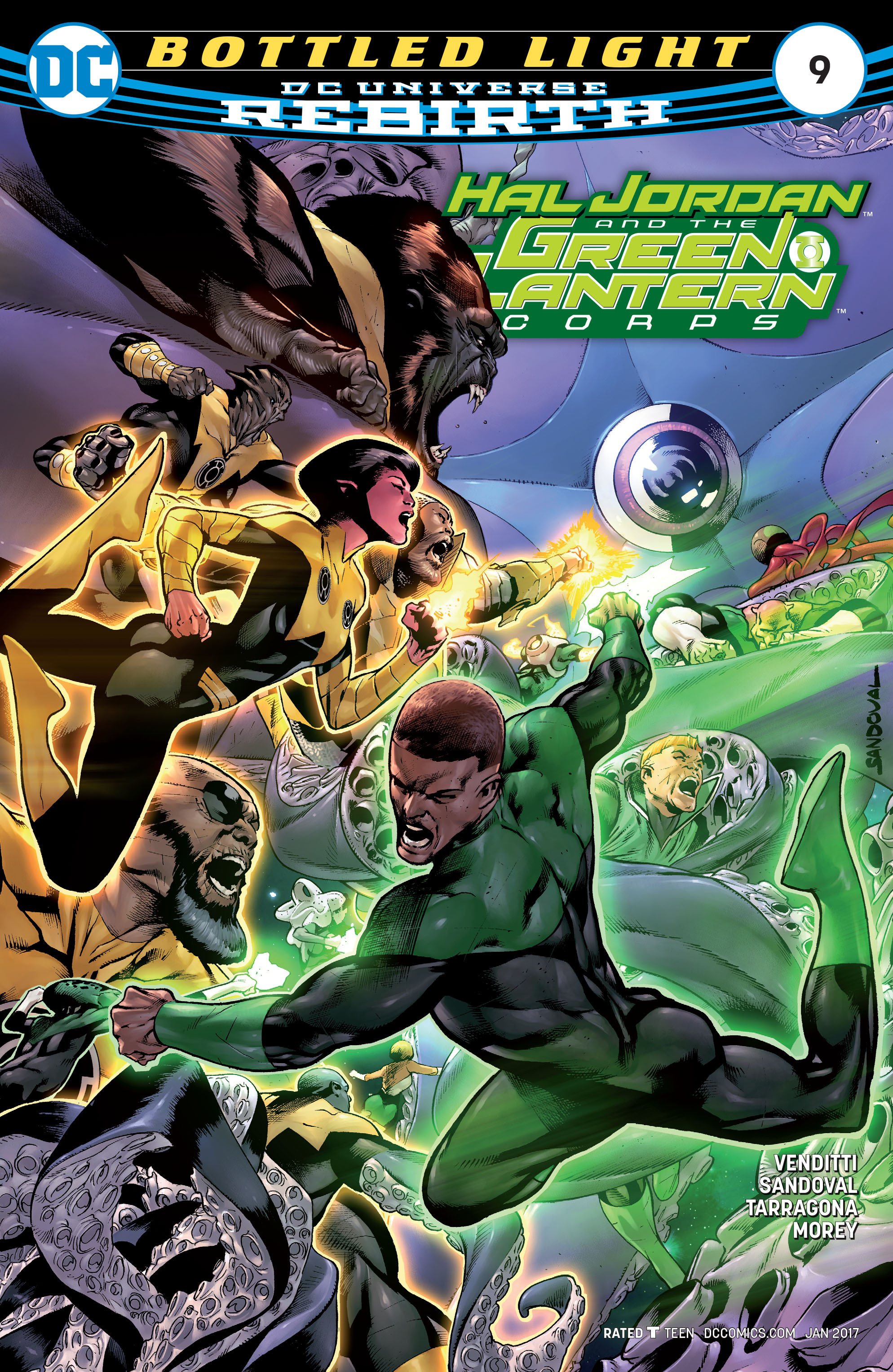 Hal Jordan & the Green Lantern Corps: Rebirth issue 9 - Page 1