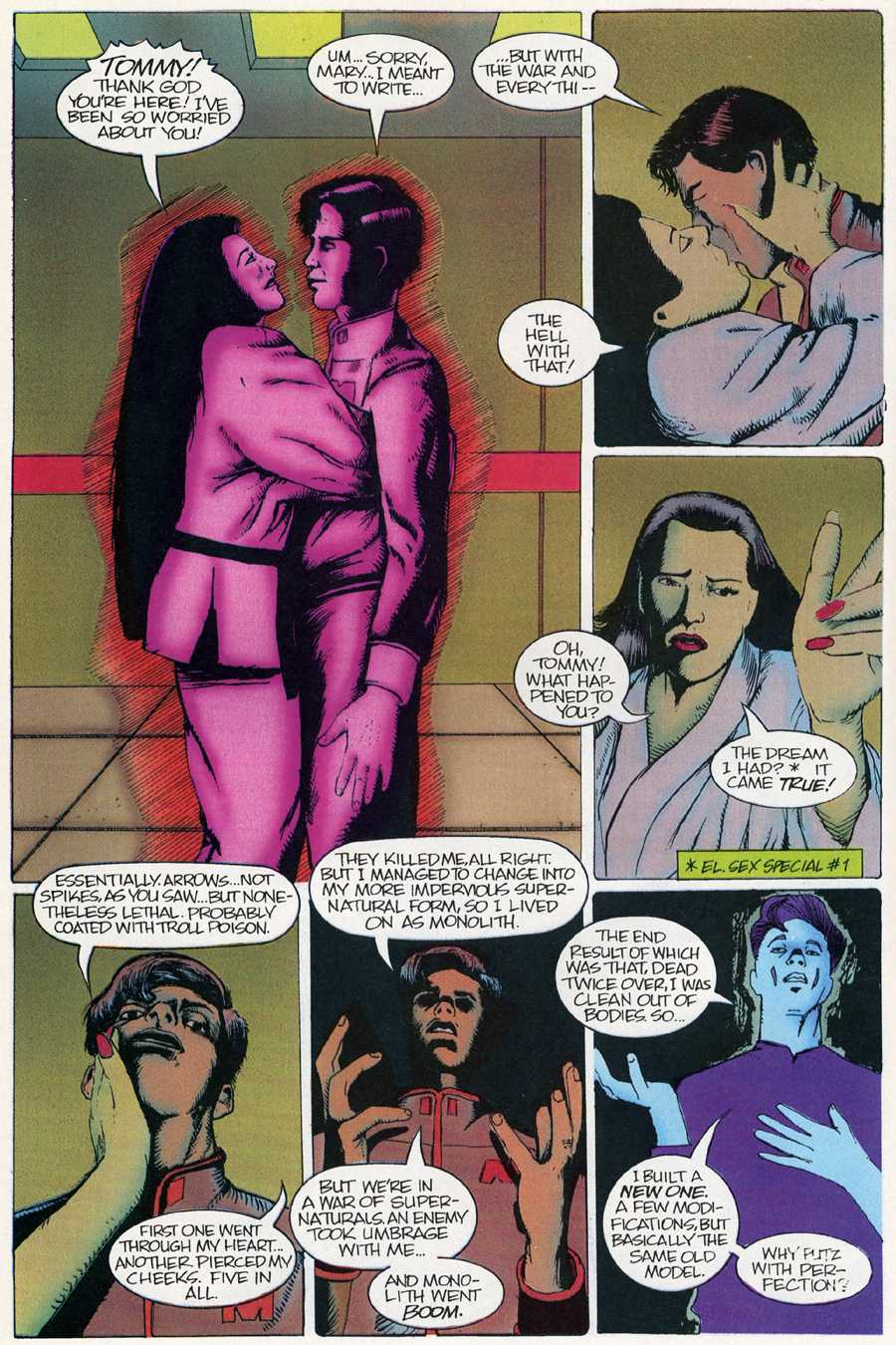 Read online Elementals Sex Special comic -  Issue #4 - 6