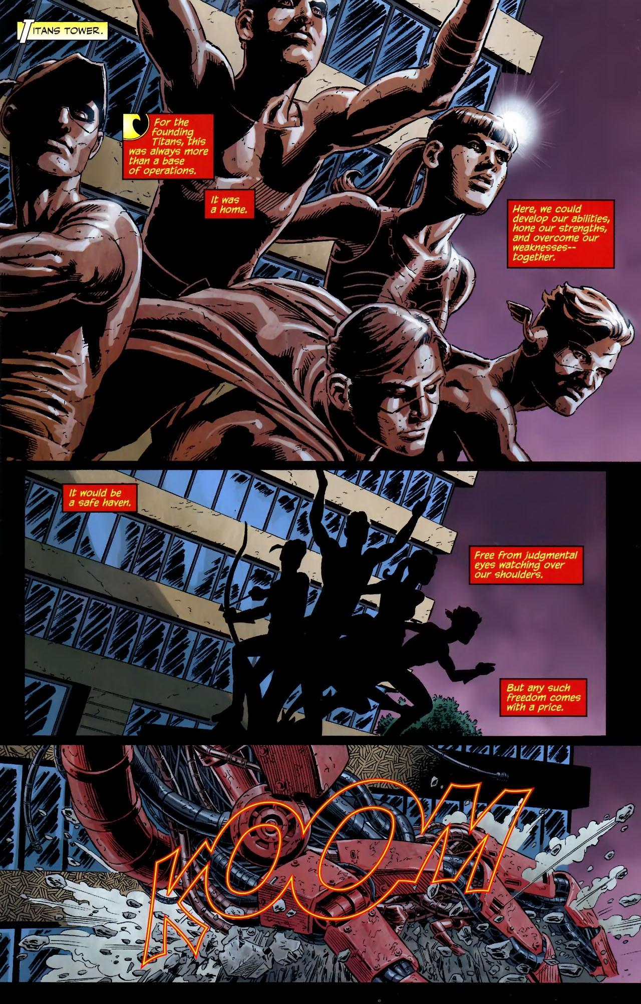 Teen Titans (2003) #100 #110 - English 2