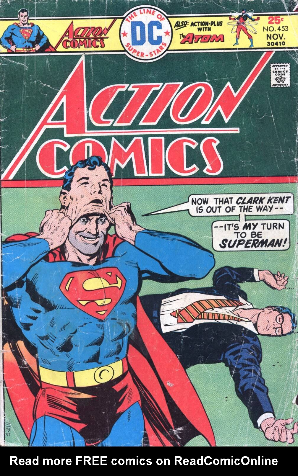 Action Comics (1938) 453 Page 1