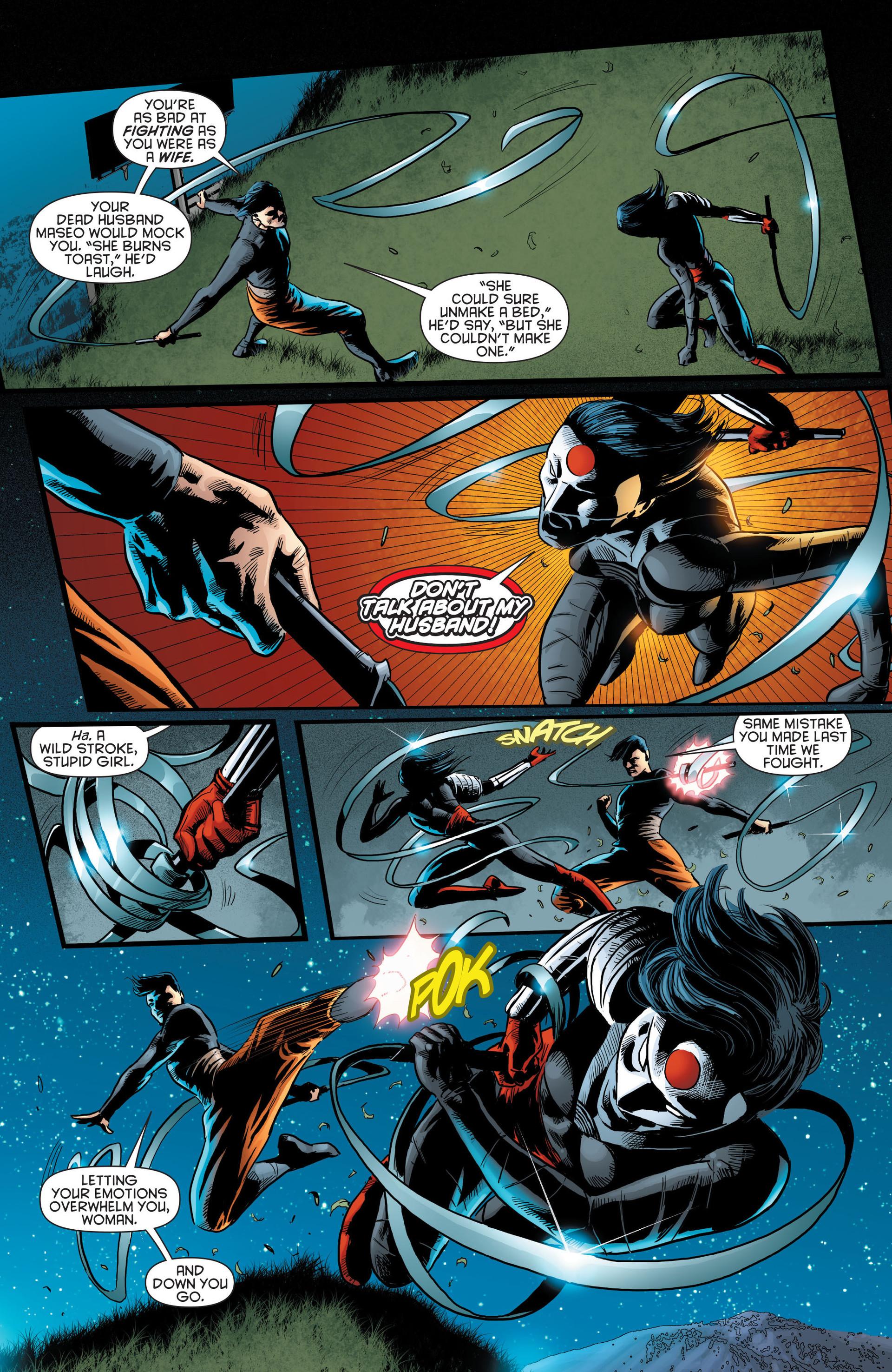 Read online Katana comic -  Issue #8 - 5