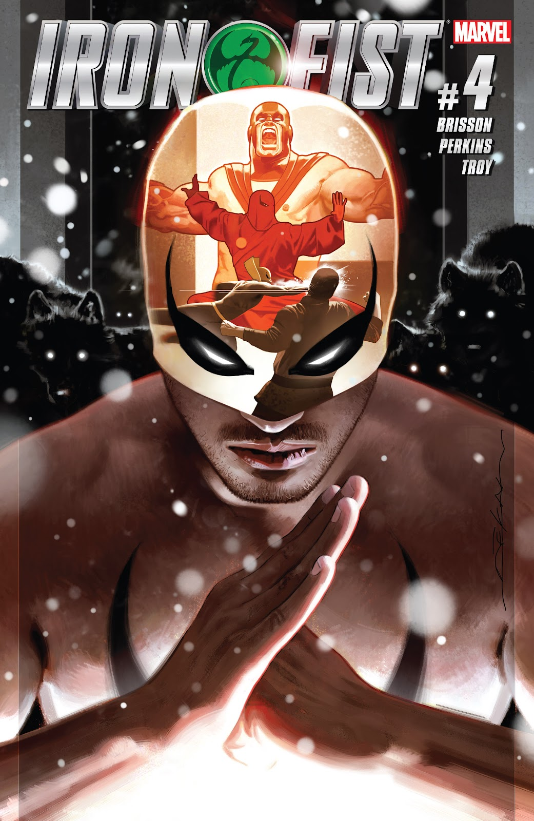 Iron Fist (2017) Issue #4 #4 - English 1