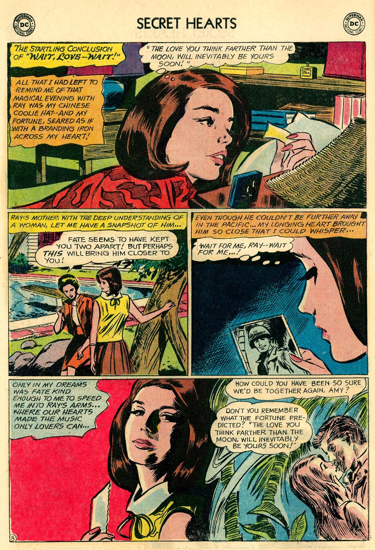 Read online Secret Hearts comic -  Issue #106 - 10