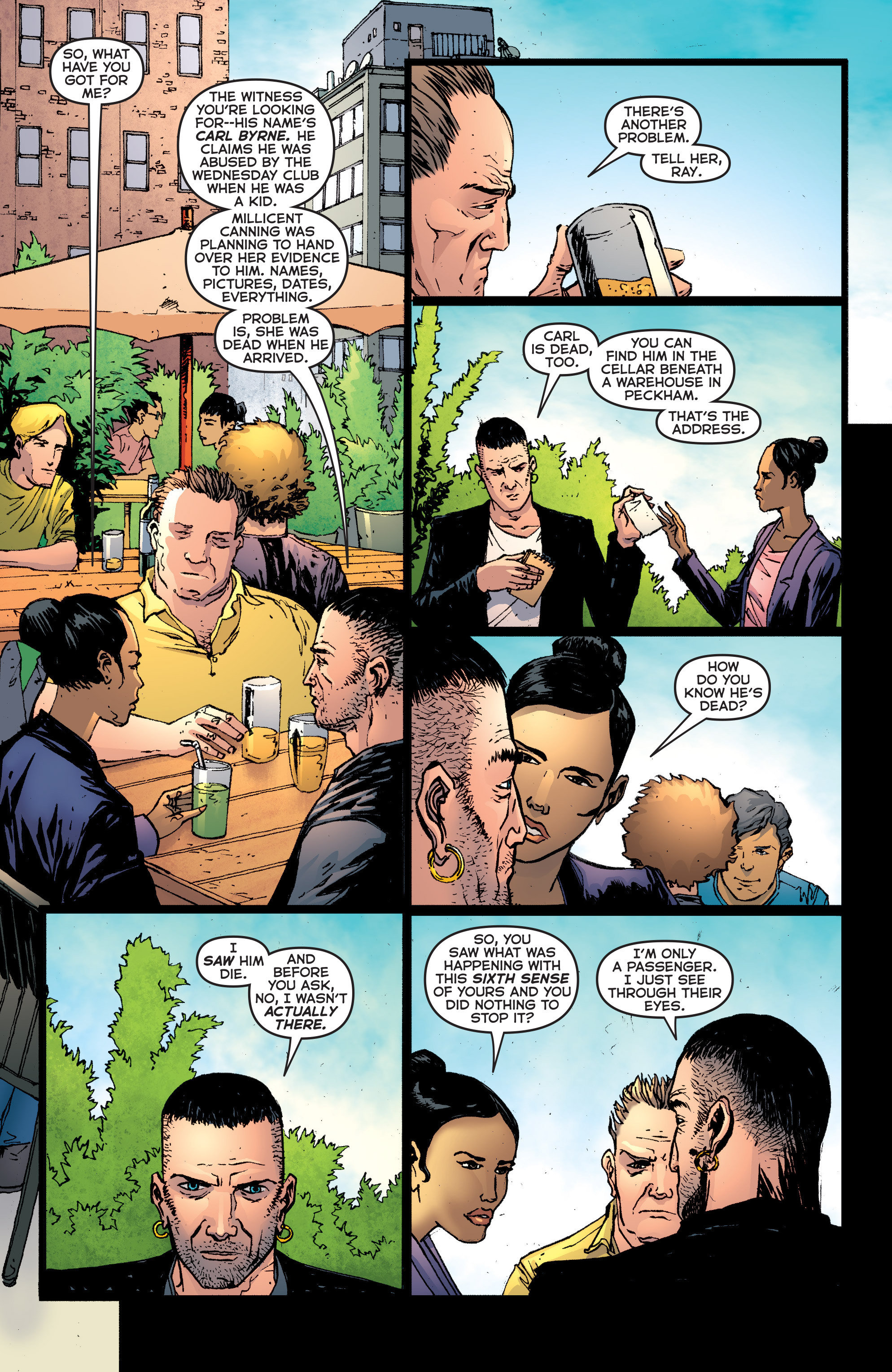 Read online Second Sight comic -  Issue #3 - 8