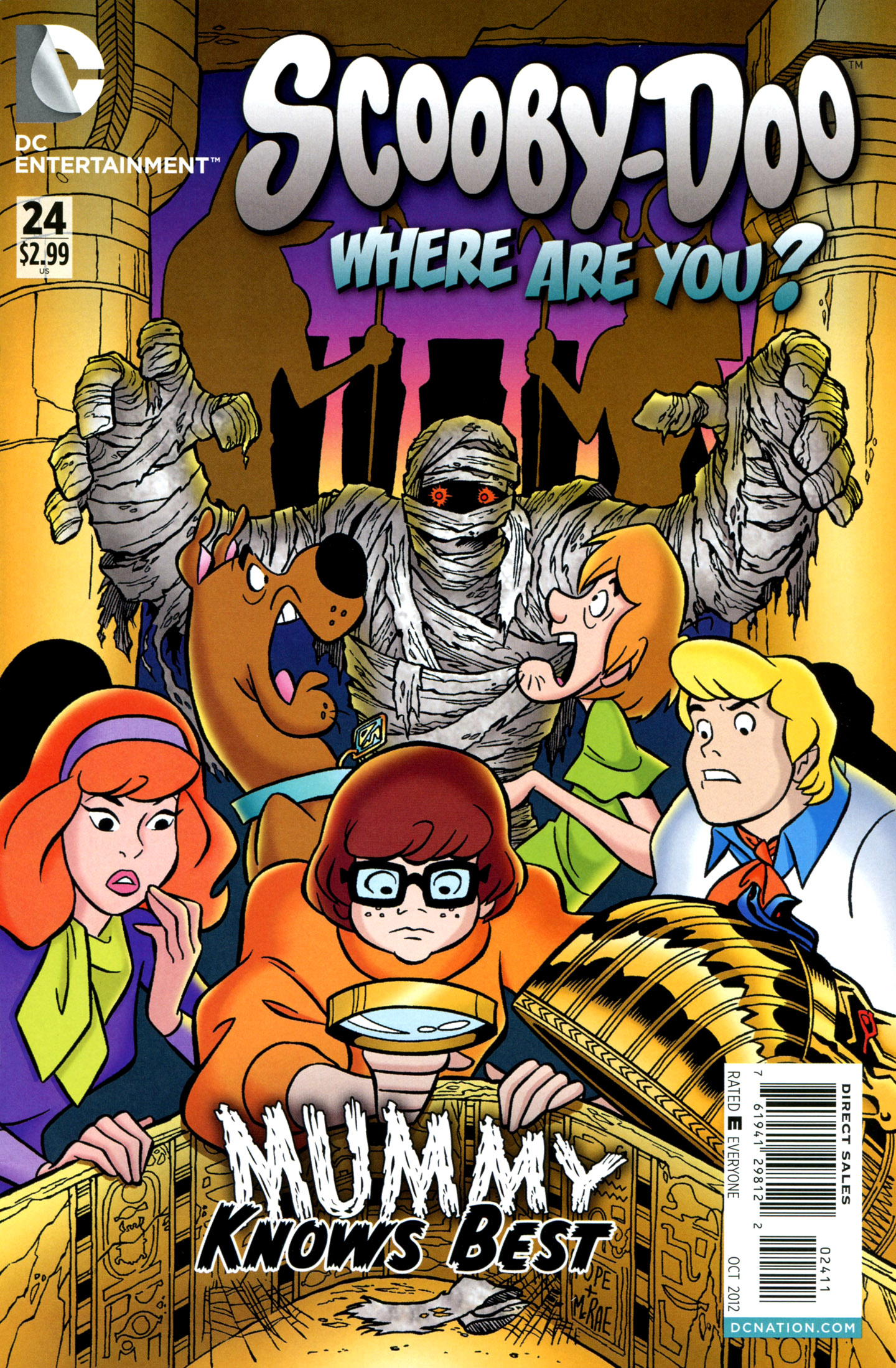 Read online Scooby-Doo: Where Are You? comic -  Issue #24 - 1