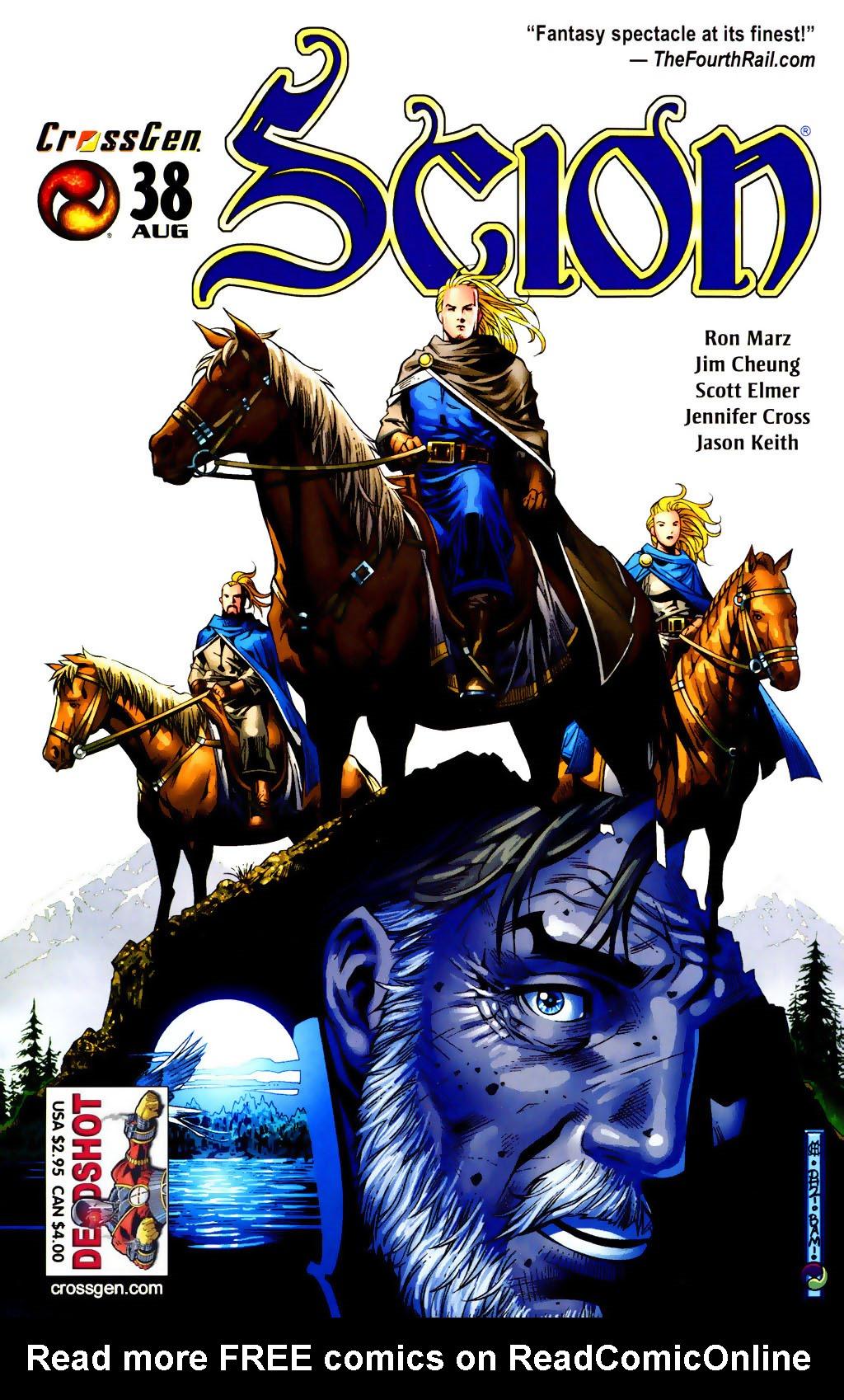 Read online Scion comic -  Issue #38 - 1