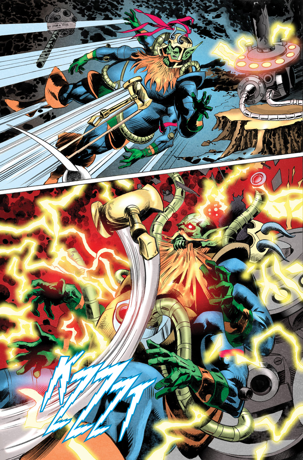 Read online Secret Invasion Aftermath: Beta Ray Bill - The Green of Eden comic -  Issue # Full - 28