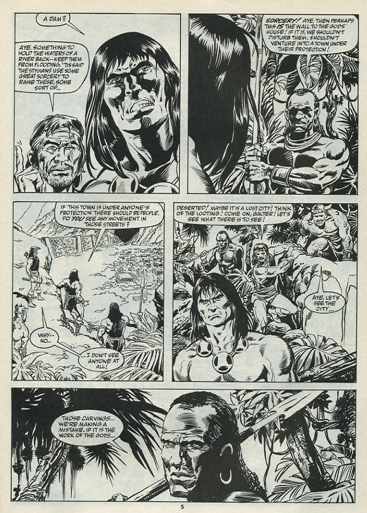 The Savage Sword Of Conan Issue #182 #183 - English 7