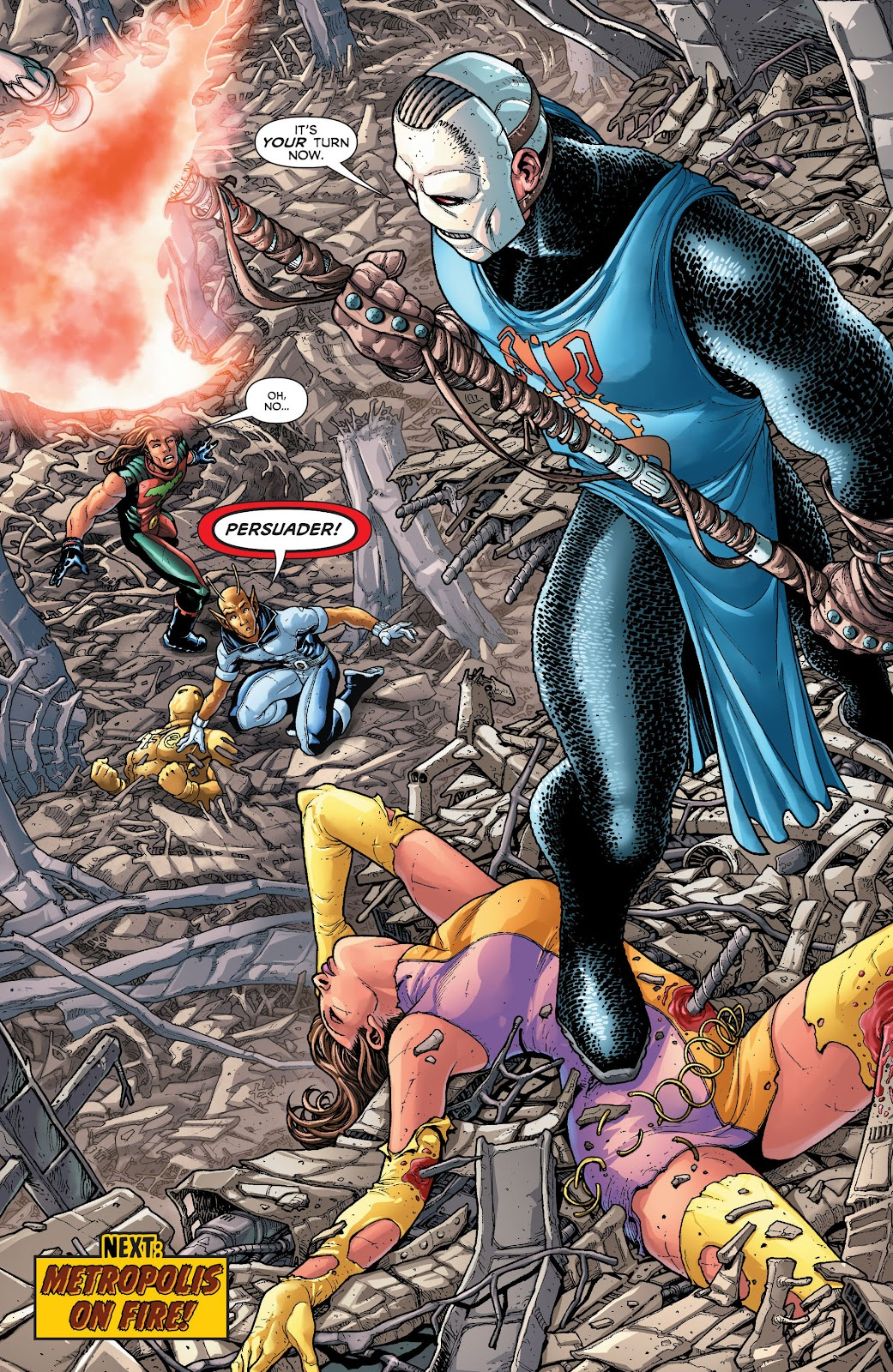 Legion of Super-Heroes (2011) Issue #20 #21 - English 21