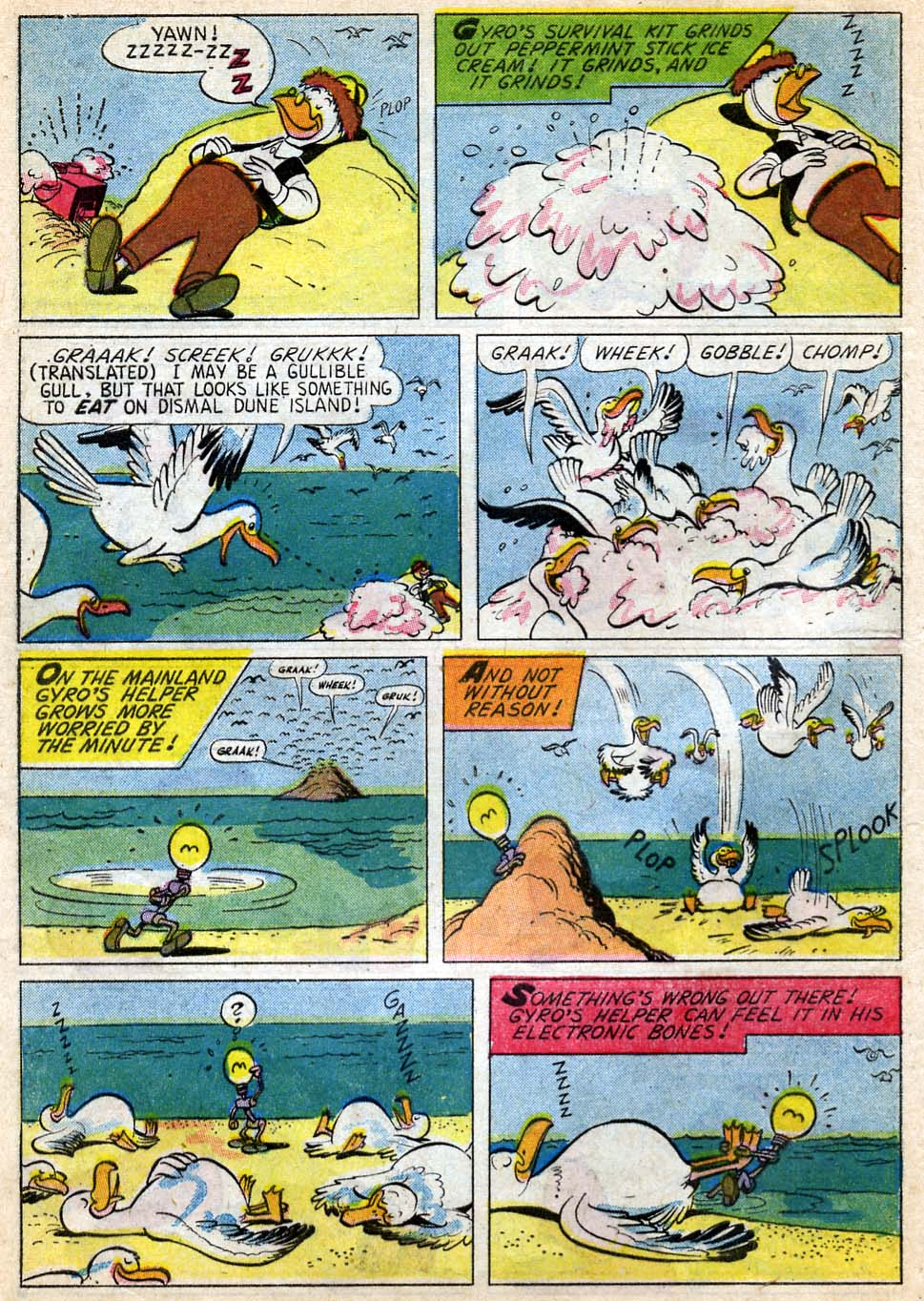 Uncle Scrooge (1953) Issue #35 #35 - English 28