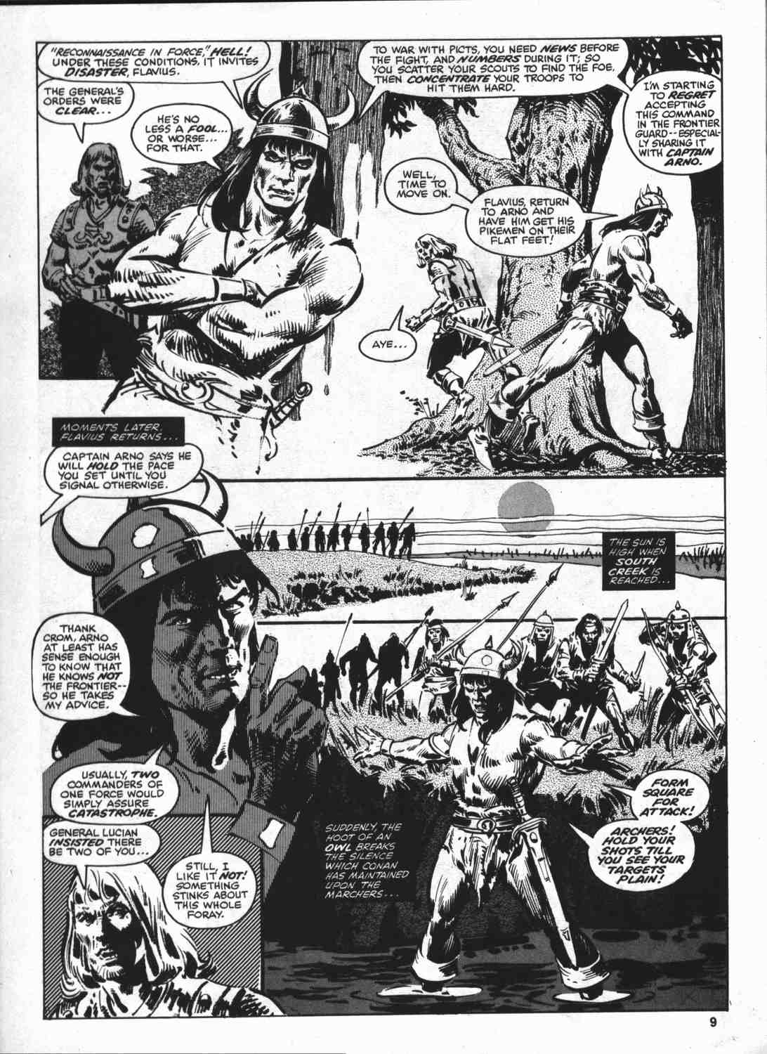 The Savage Sword Of Conan Issue #46 #47 - English 8