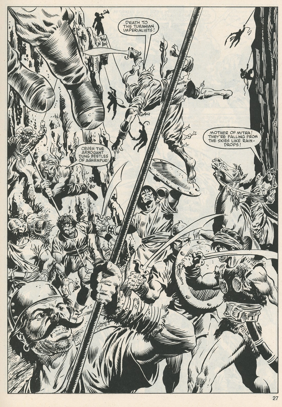 The Savage Sword Of Conan Issue #112 #113 - English 28