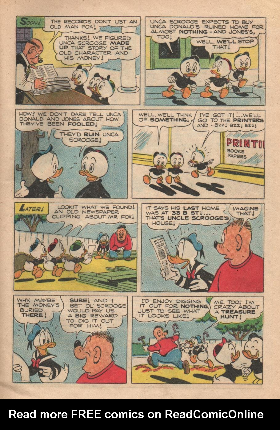 Uncle Scrooge (1953) #6 #399 - English 33
