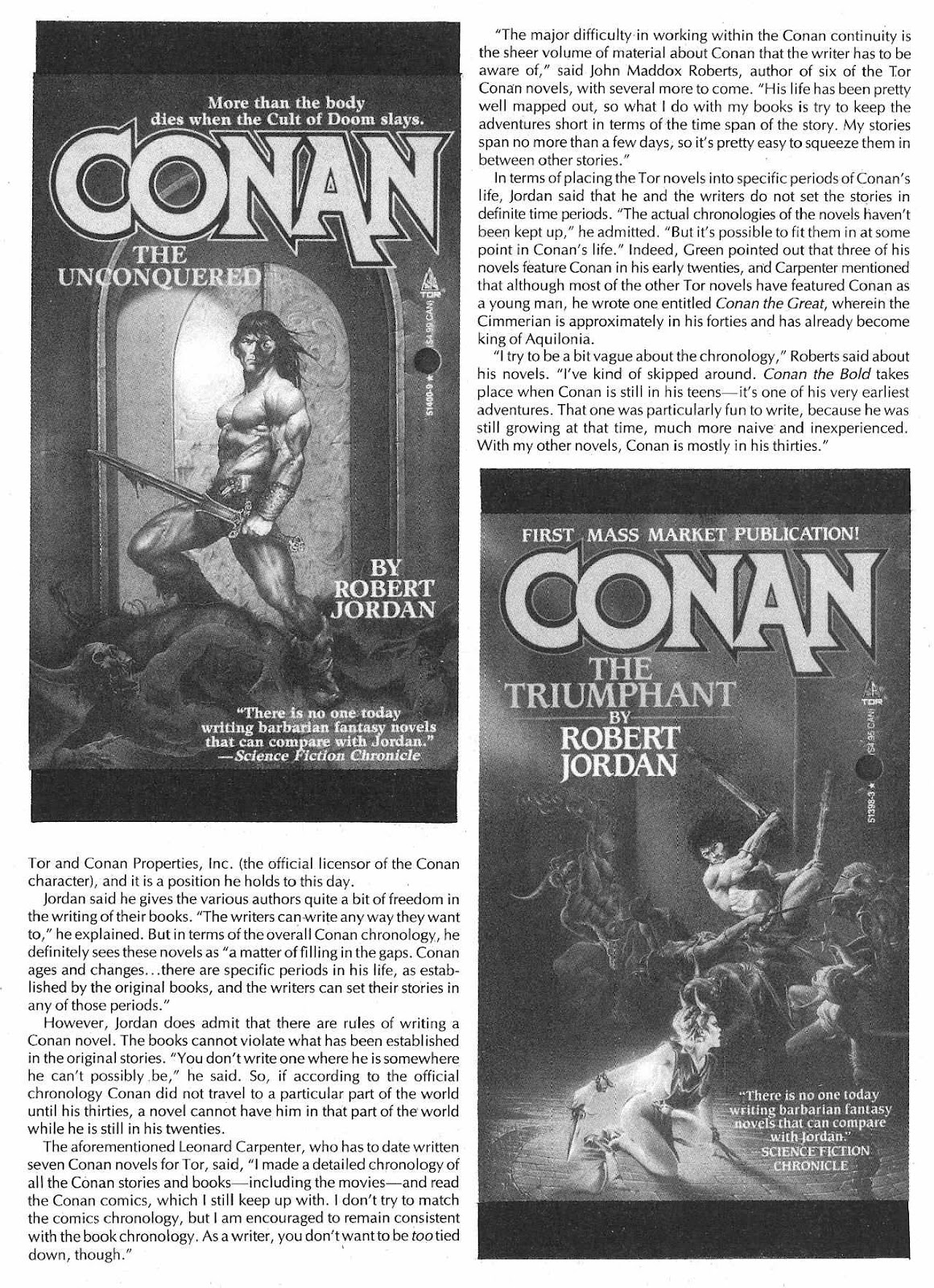 The Savage Sword Of Conan Issue #209 #210 - English 50