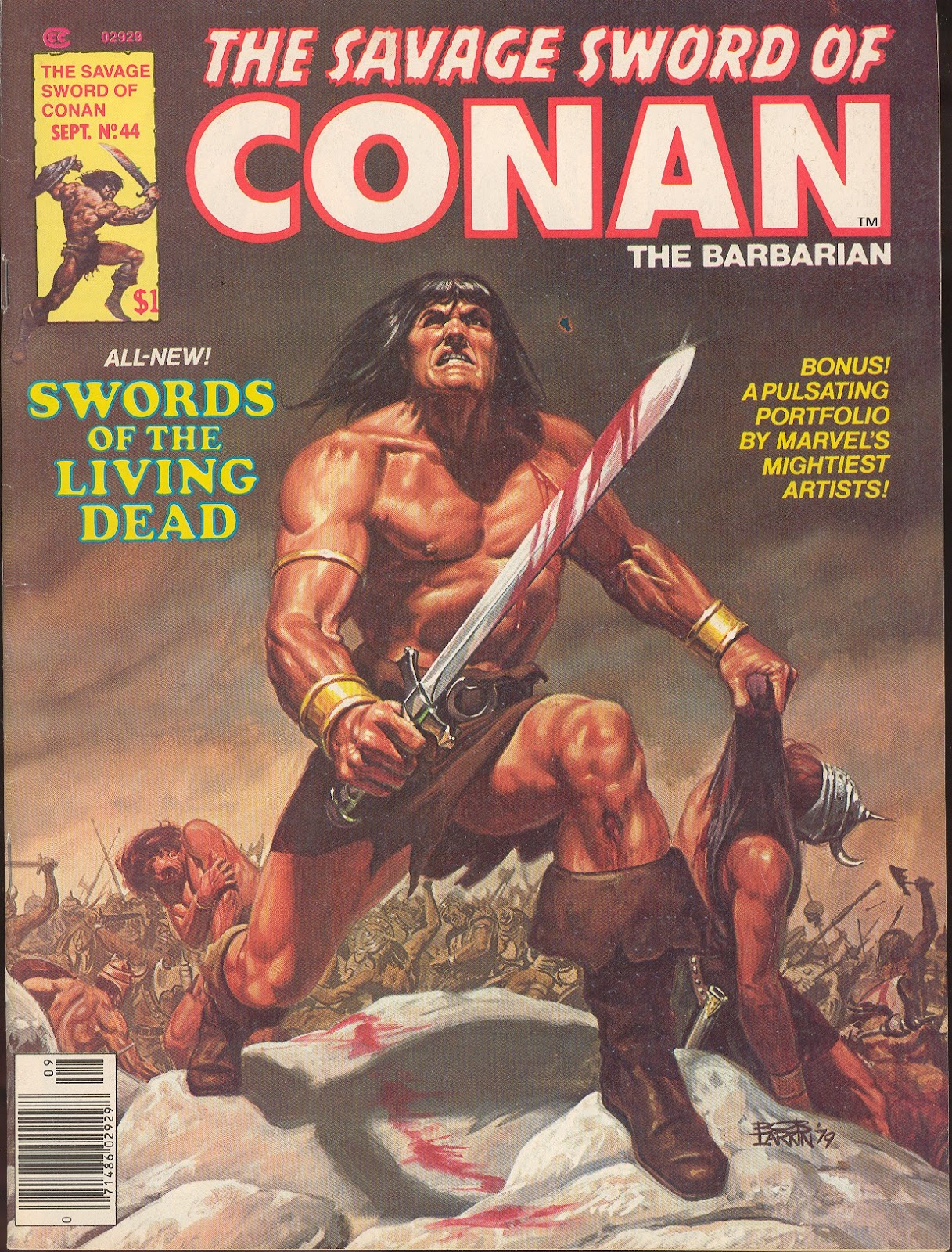 The Savage Sword Of Conan Issue #44 #45 - English 1