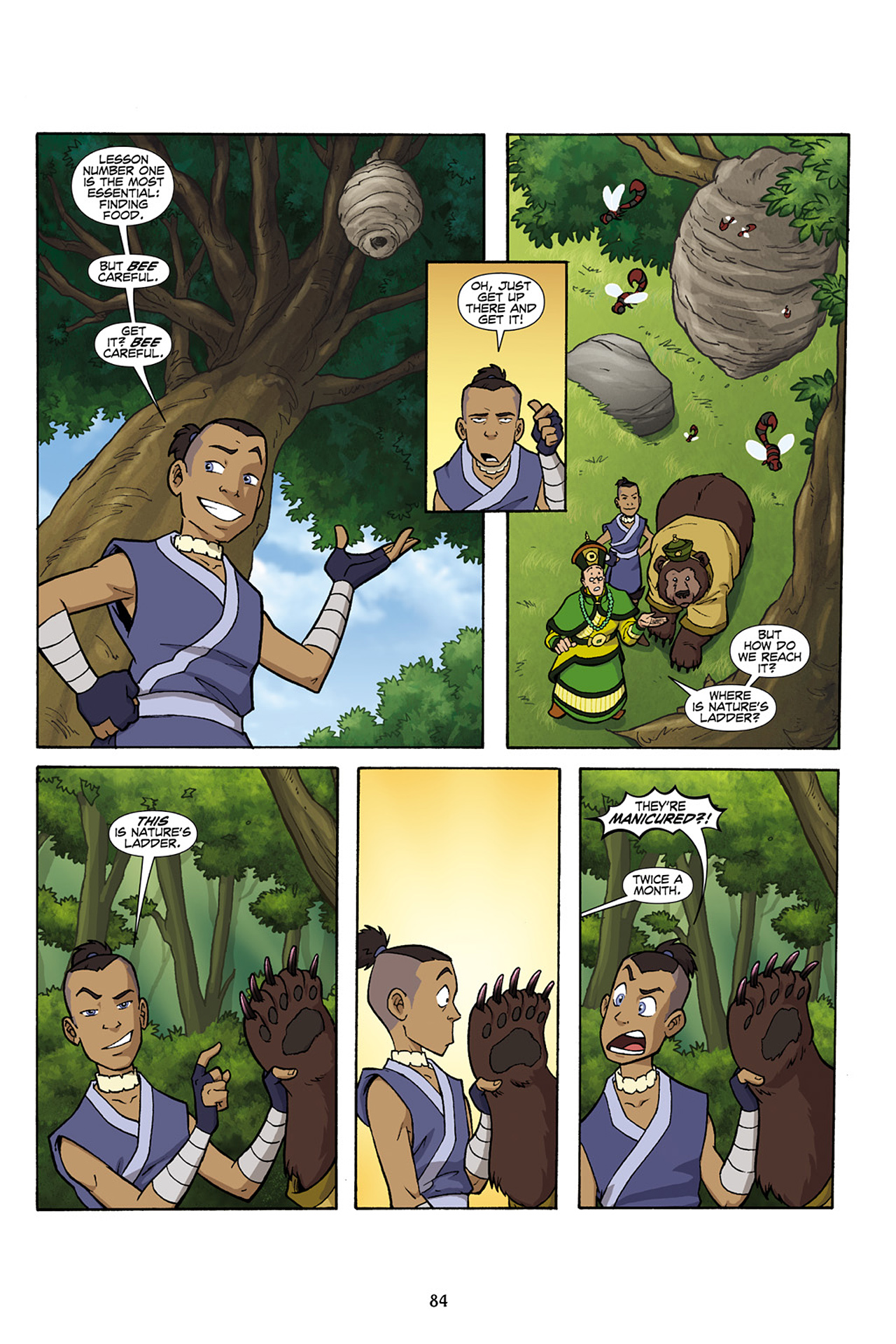 Nickelodeon Avatar: The Last Airbender - The Lost Adventures chap full pic 85