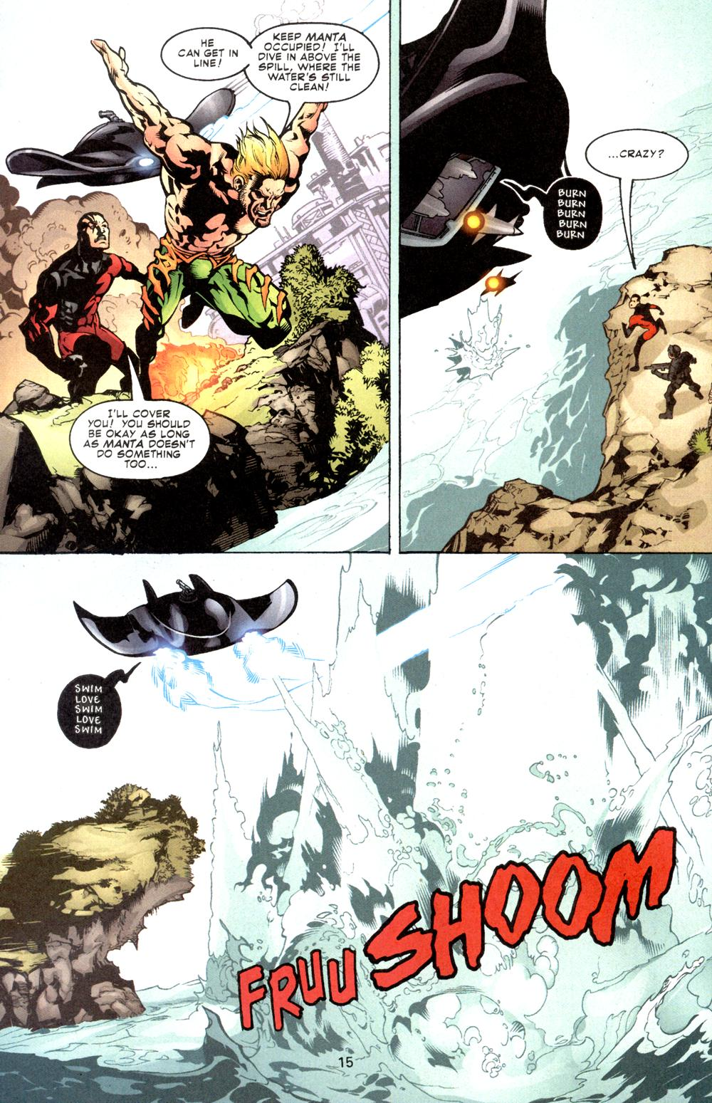 Aquaman (2003) Issue #8 #8 - English 16