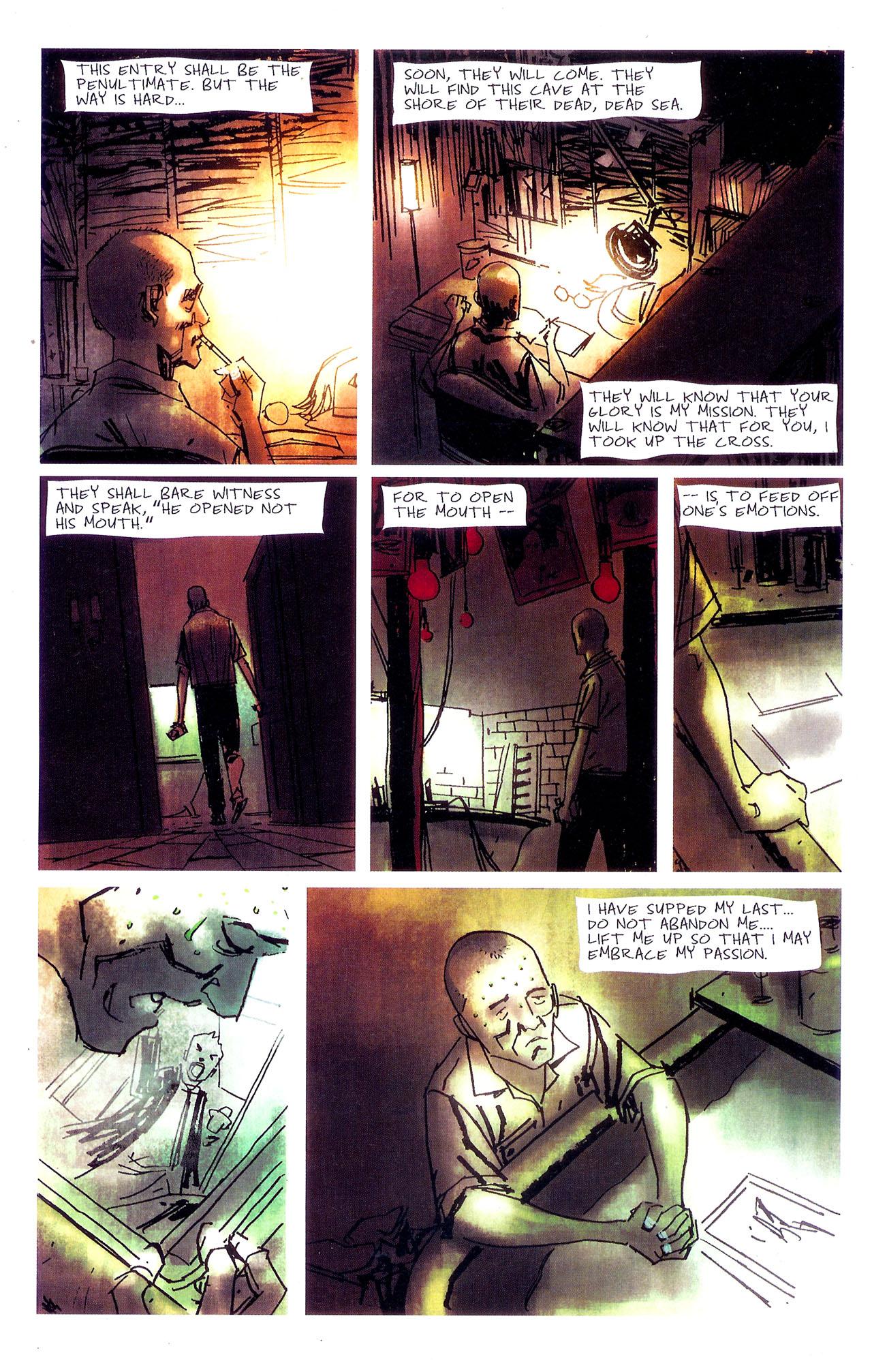 Read online Se7en comic -  Issue #7 - 6
