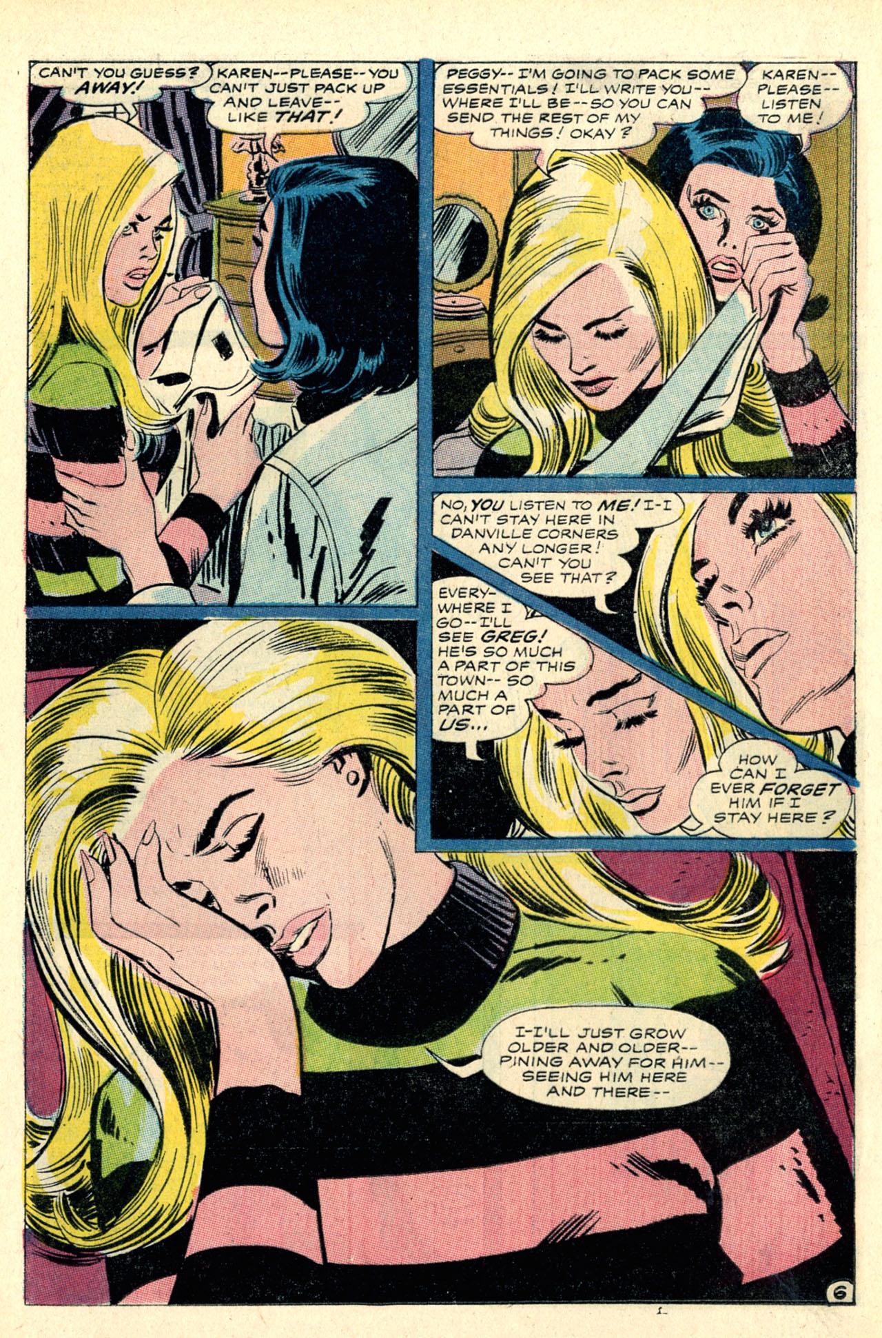 Read online Secret Hearts comic -  Issue #127 - 24
