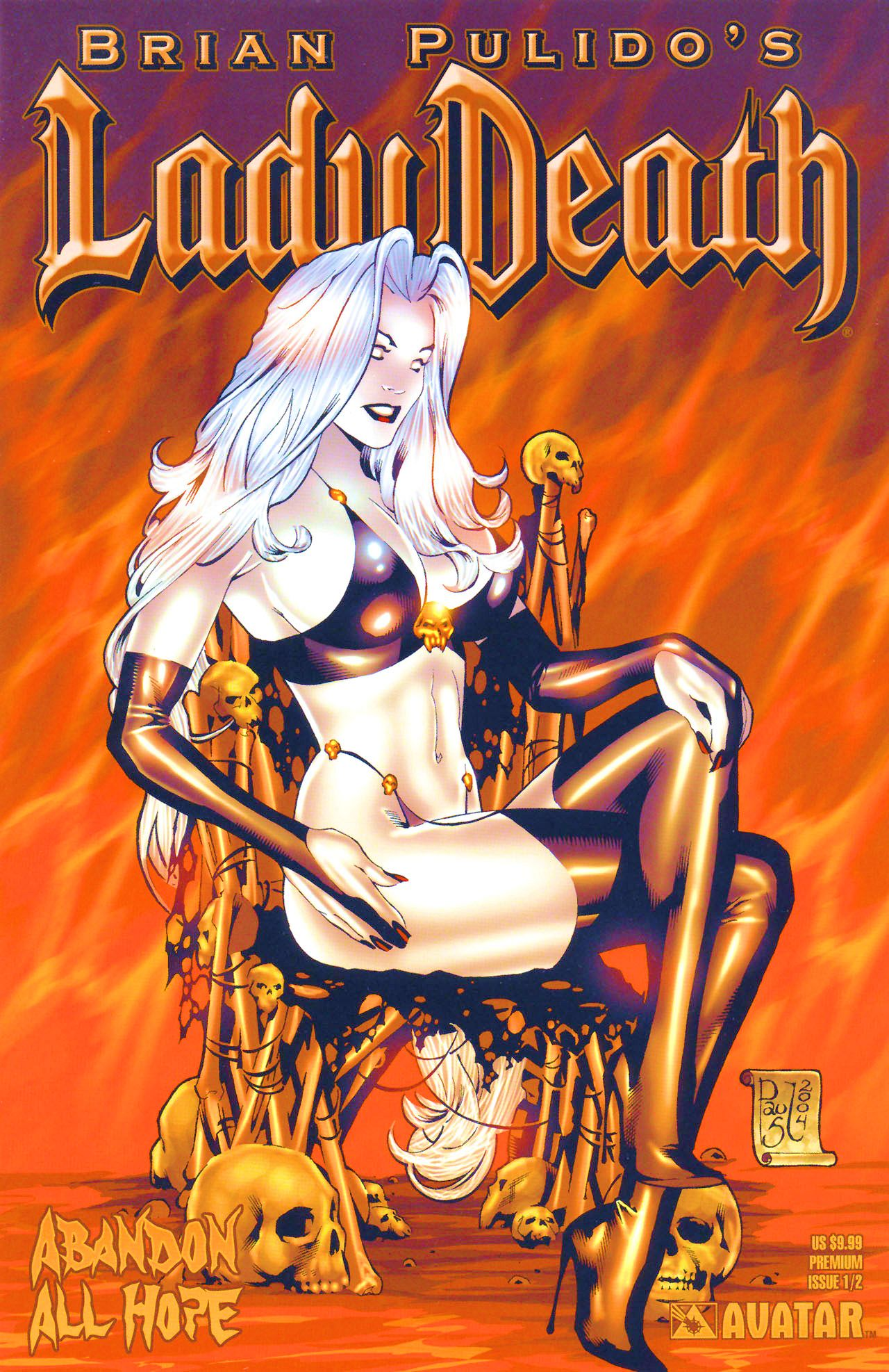 Brian Pulidos Lady Death: Abandon All Hope 0 Page 1