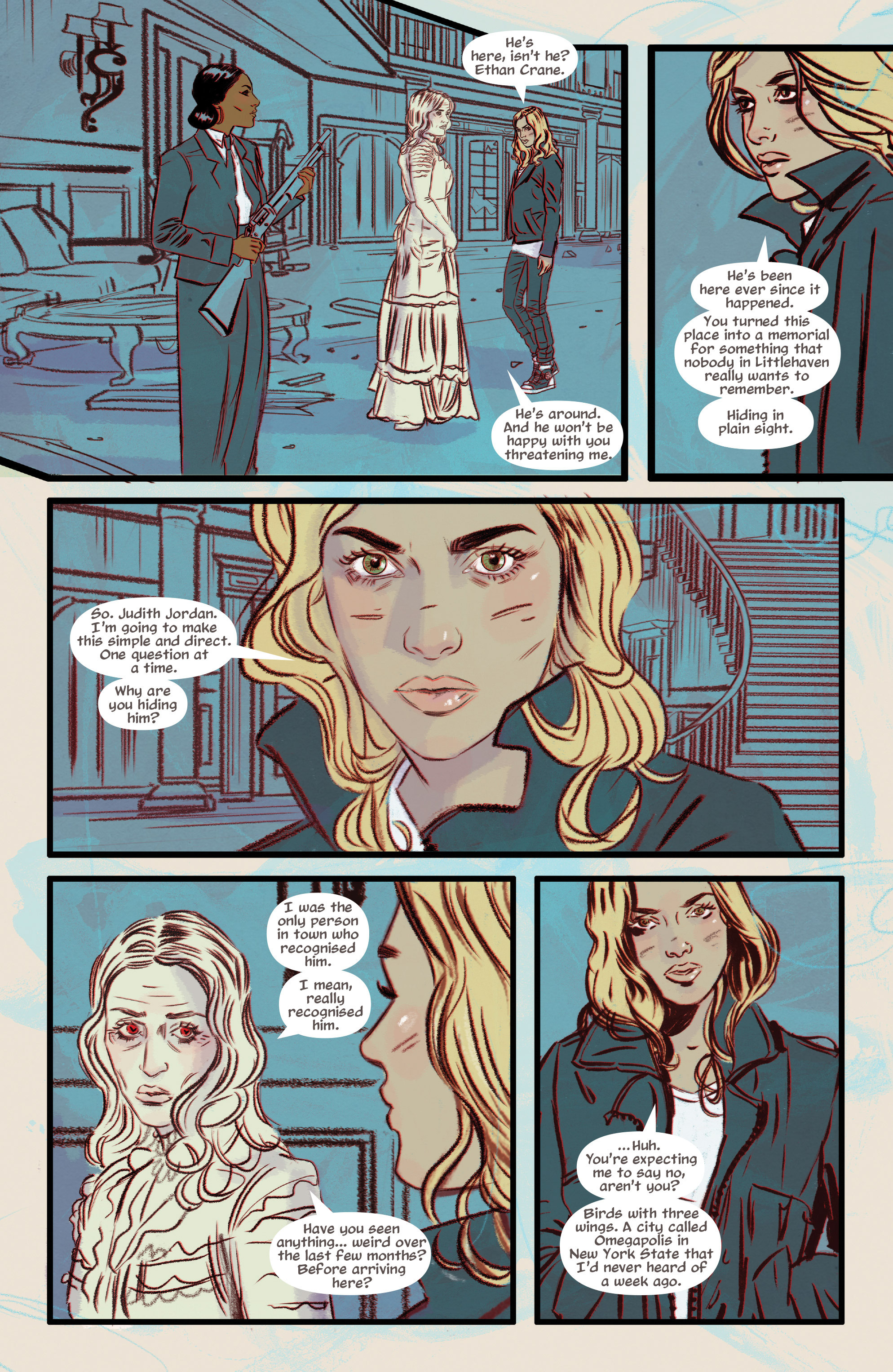 Read online Supreme Blue Rose comic -  Issue #7 - 3