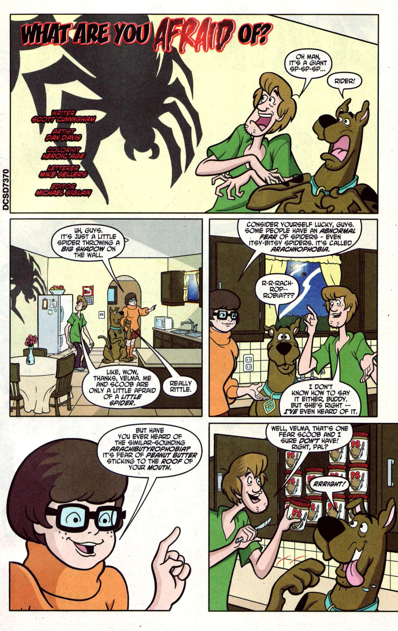 Read online Scooby-Doo (1997) comic -  Issue #122 - 17