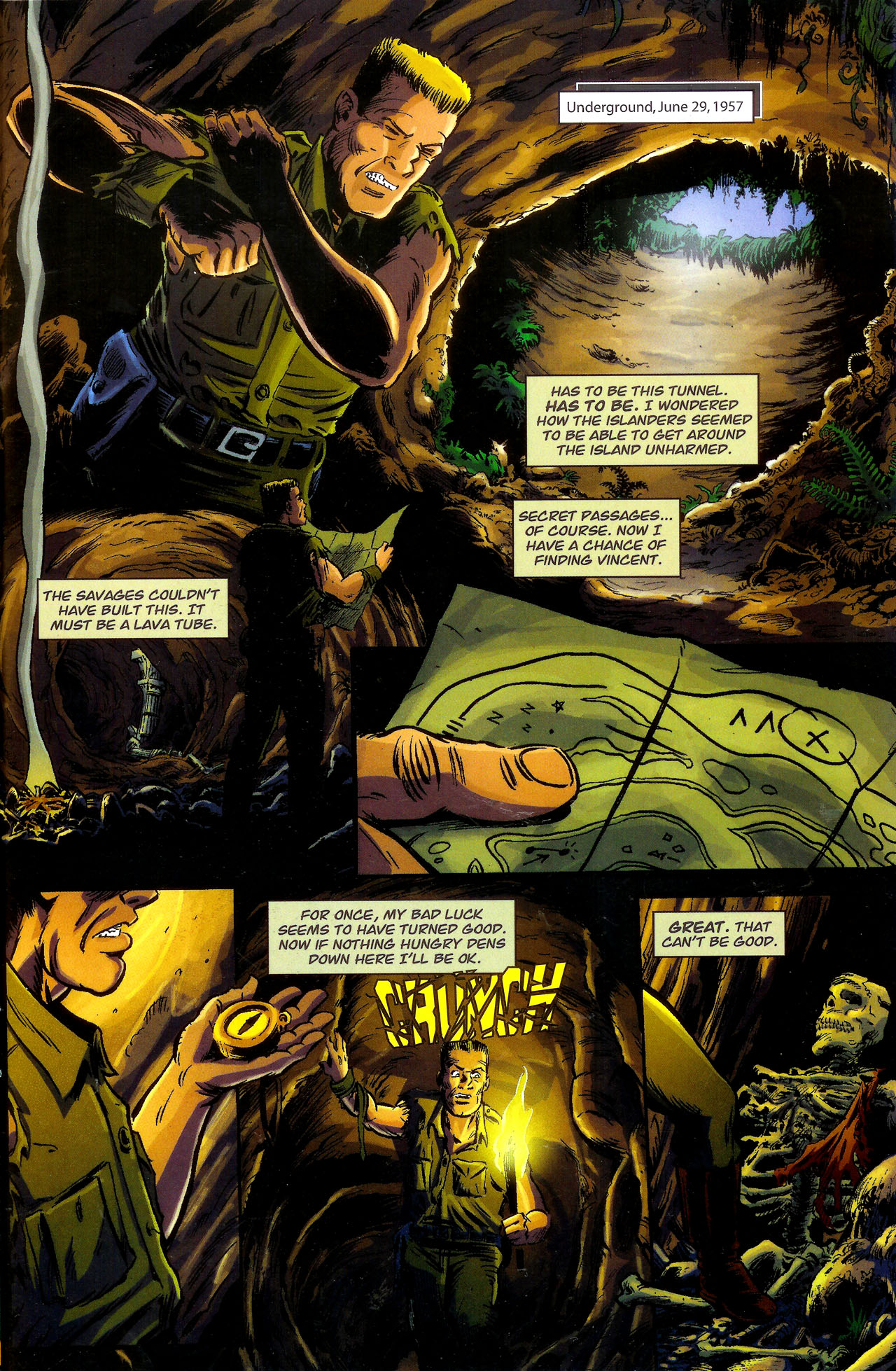 Read online Kong: King Of Skull Island comic -  Issue #1 - 23