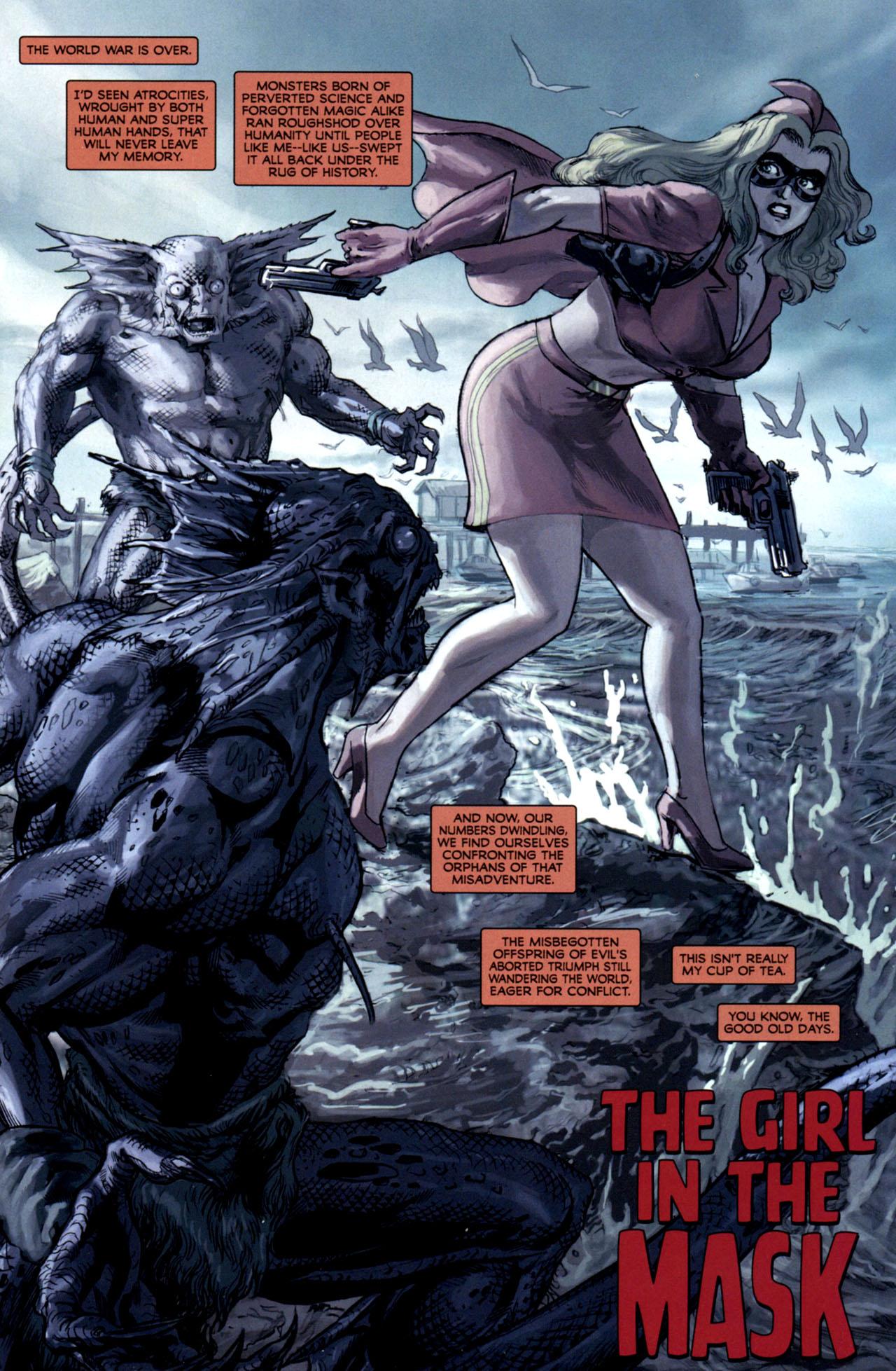 Read online Masquerade comic -  Issue #2 - 6