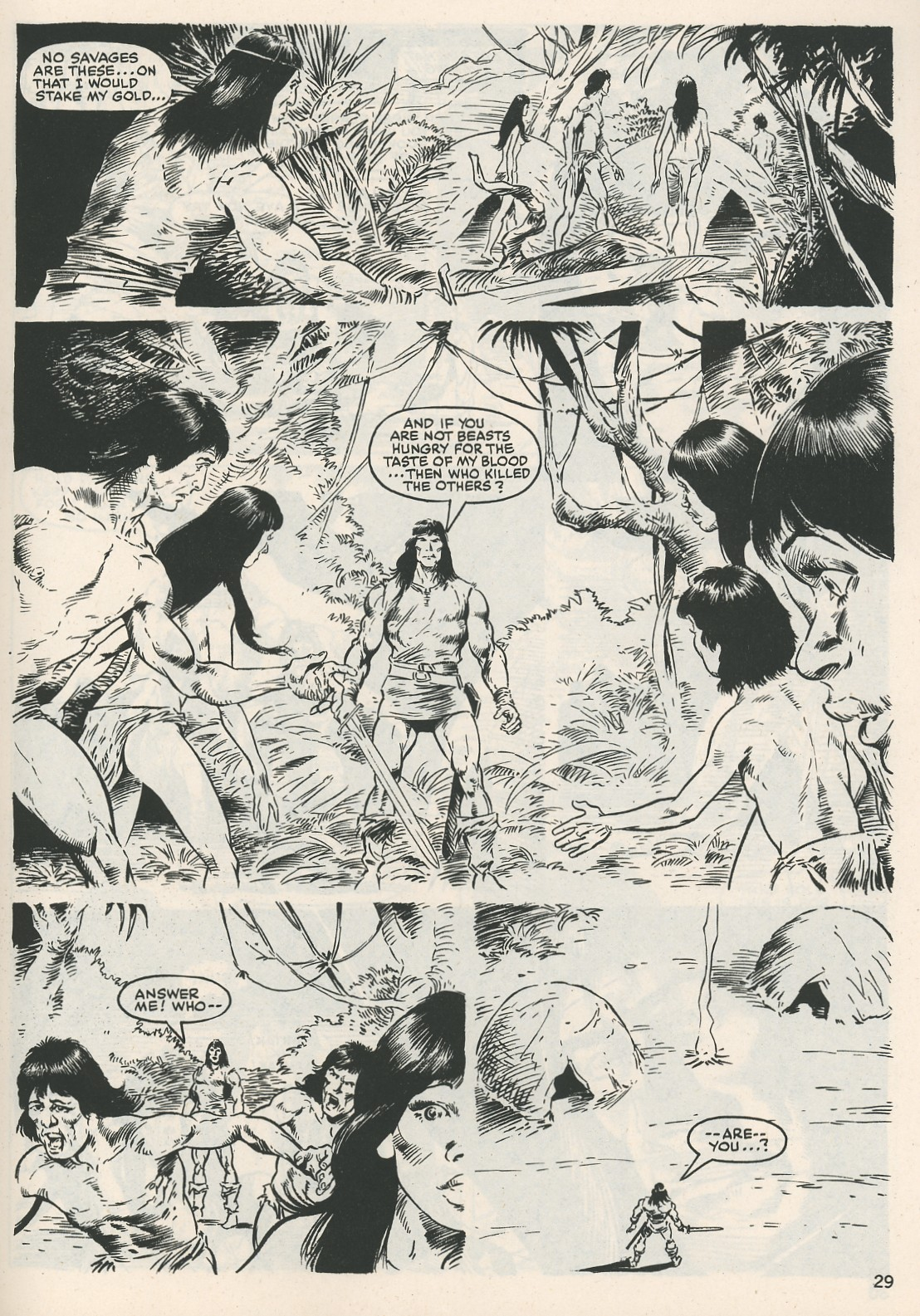 The Savage Sword Of Conan Issue #115 #116 - English 29