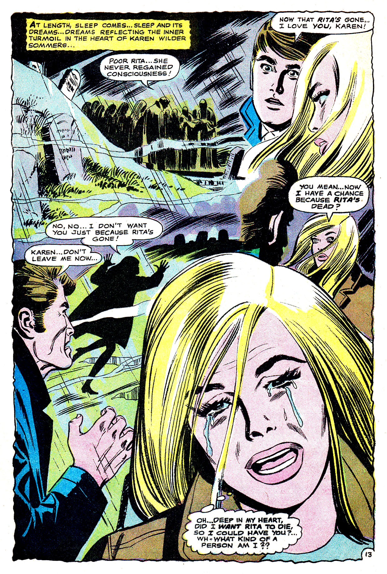 Read online Secret Hearts comic -  Issue #135 - 32