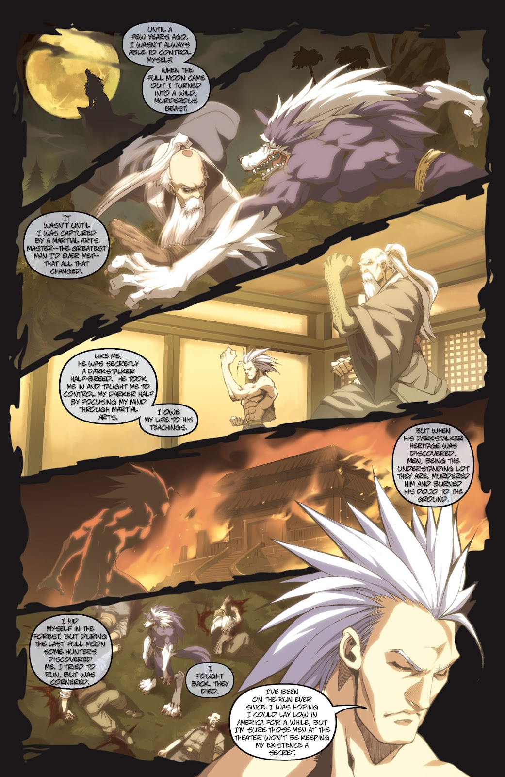 Darkstalkers Issue #3 #4 - English 19
