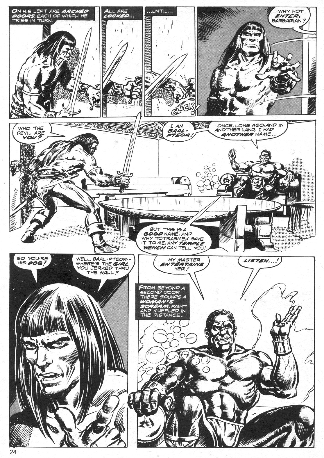 The Savage Sword Of Conan Issue #14 #15 - English 24
