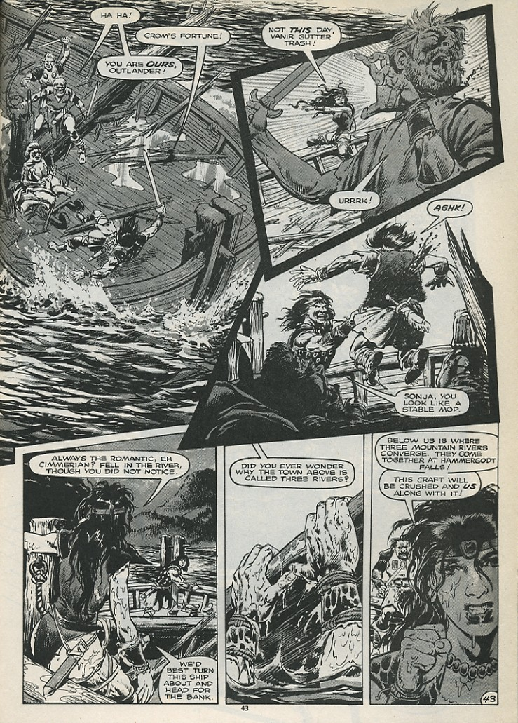 The Savage Sword Of Conan Issue #179 #180 - English 45